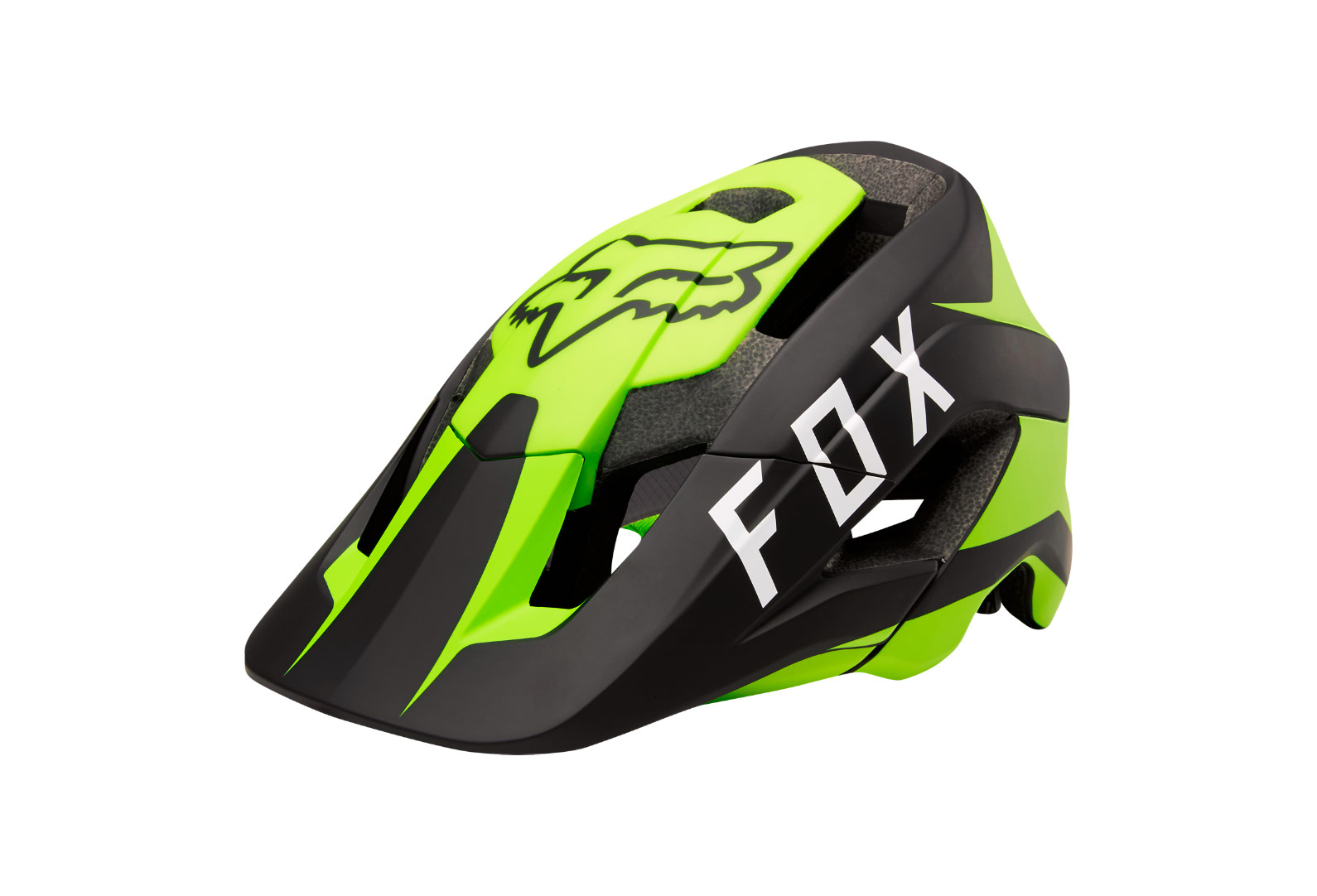 Fox Metah Flow Helmet Yellow Black Alltricks Es