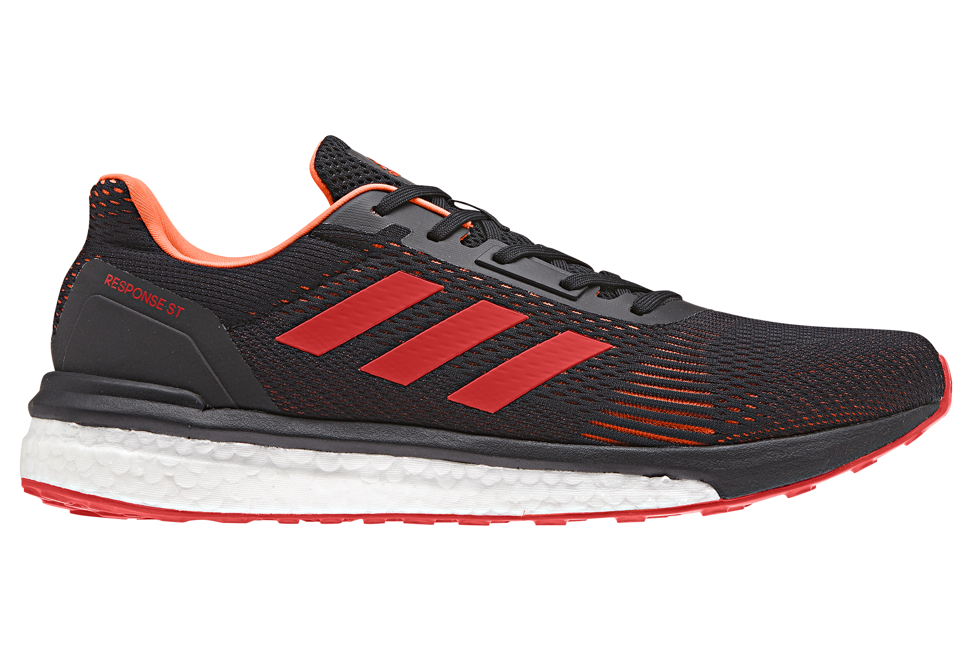 Rouge St Noir Adidas De Running Response Chaussures TlK3F5u1Jc