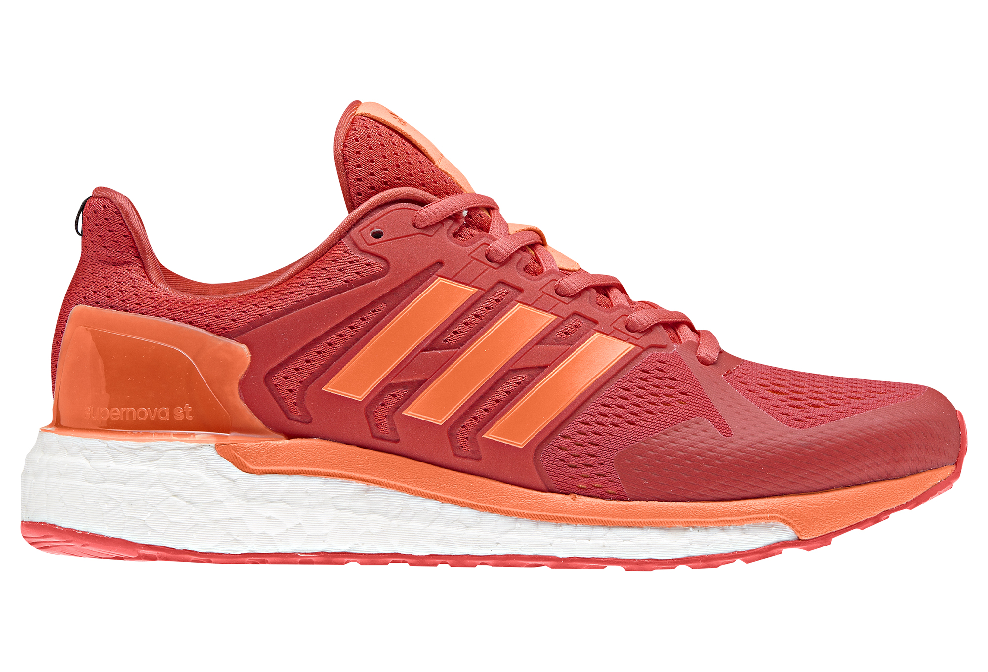 chaussures de running femme adidas running supernova st rouge orange. Black Bedroom Furniture Sets. Home Design Ideas