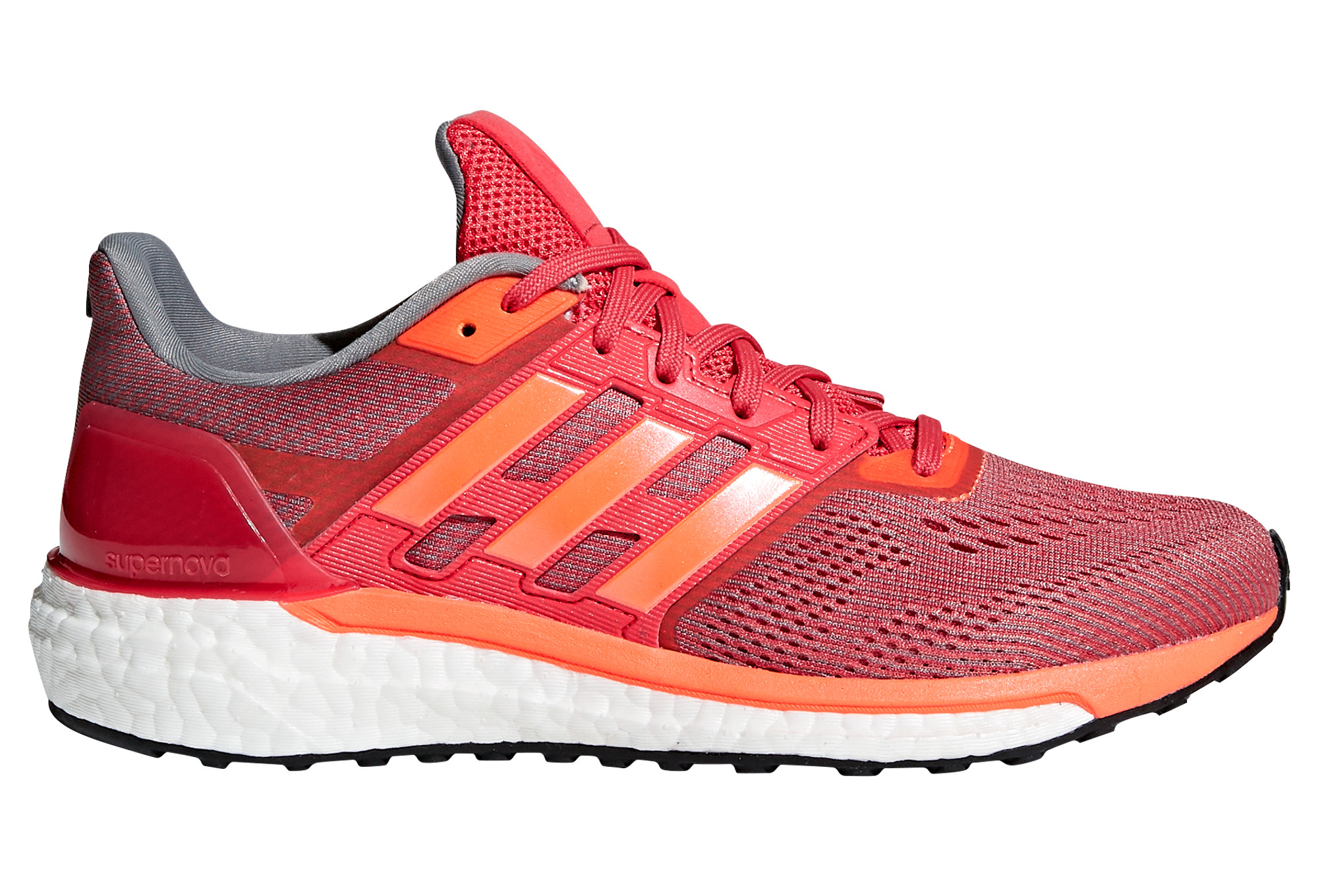 Adidas Orange Chaussures Running Supernova Rouge Femme De knwPO0