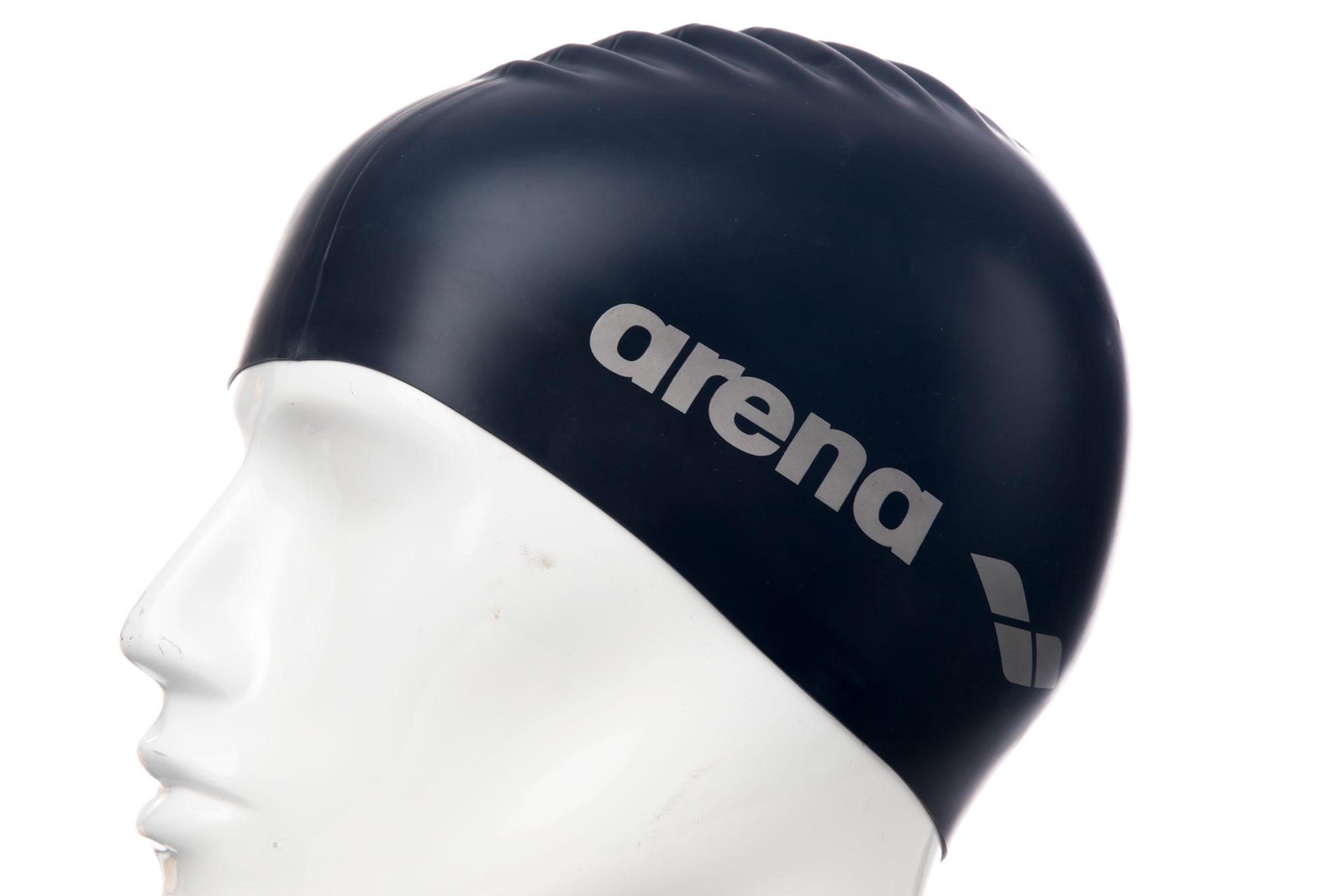 bonnet de bain arena classic silicone bleu denim. Black Bedroom Furniture Sets. Home Design Ideas