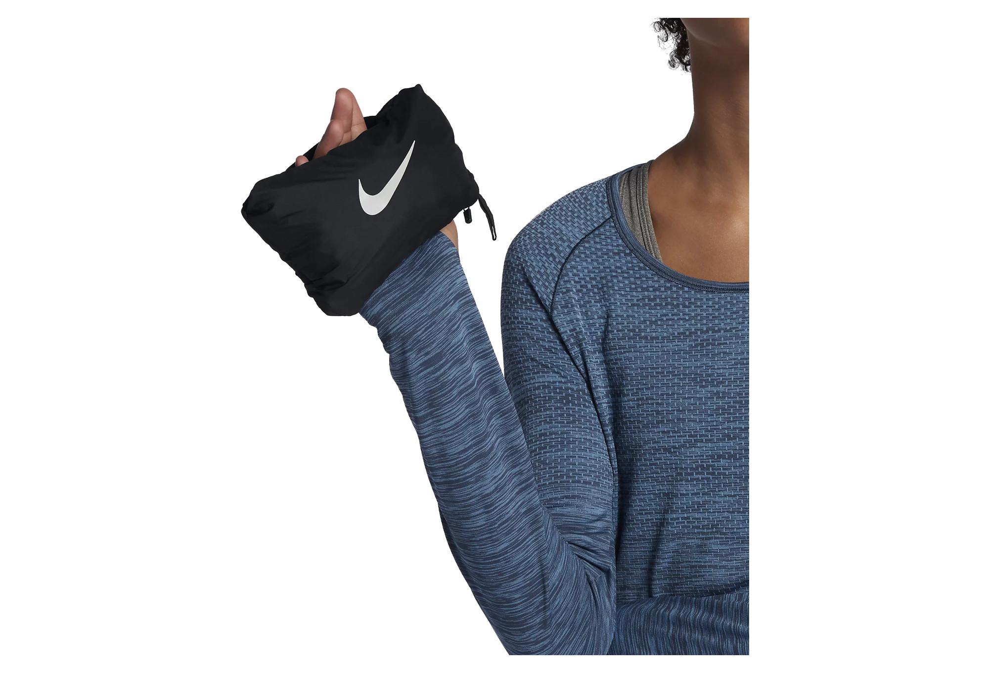 Doudoune Doudoune Doudoune Sans Noir Aeroloft Manche Nike Femme ffw0gr