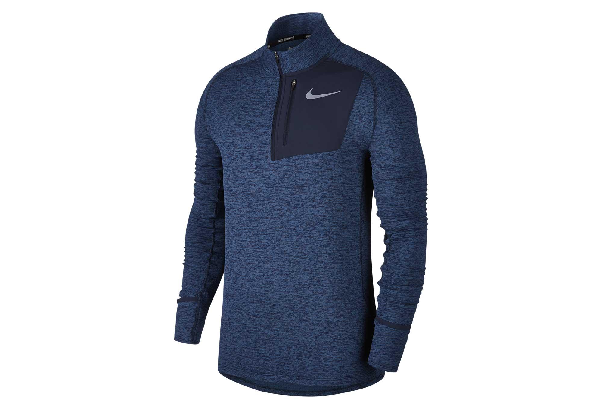 25d27c8d3cc31 Sweat Thermique Nike Therma Sphere Element Bleu   Alltricks.fr