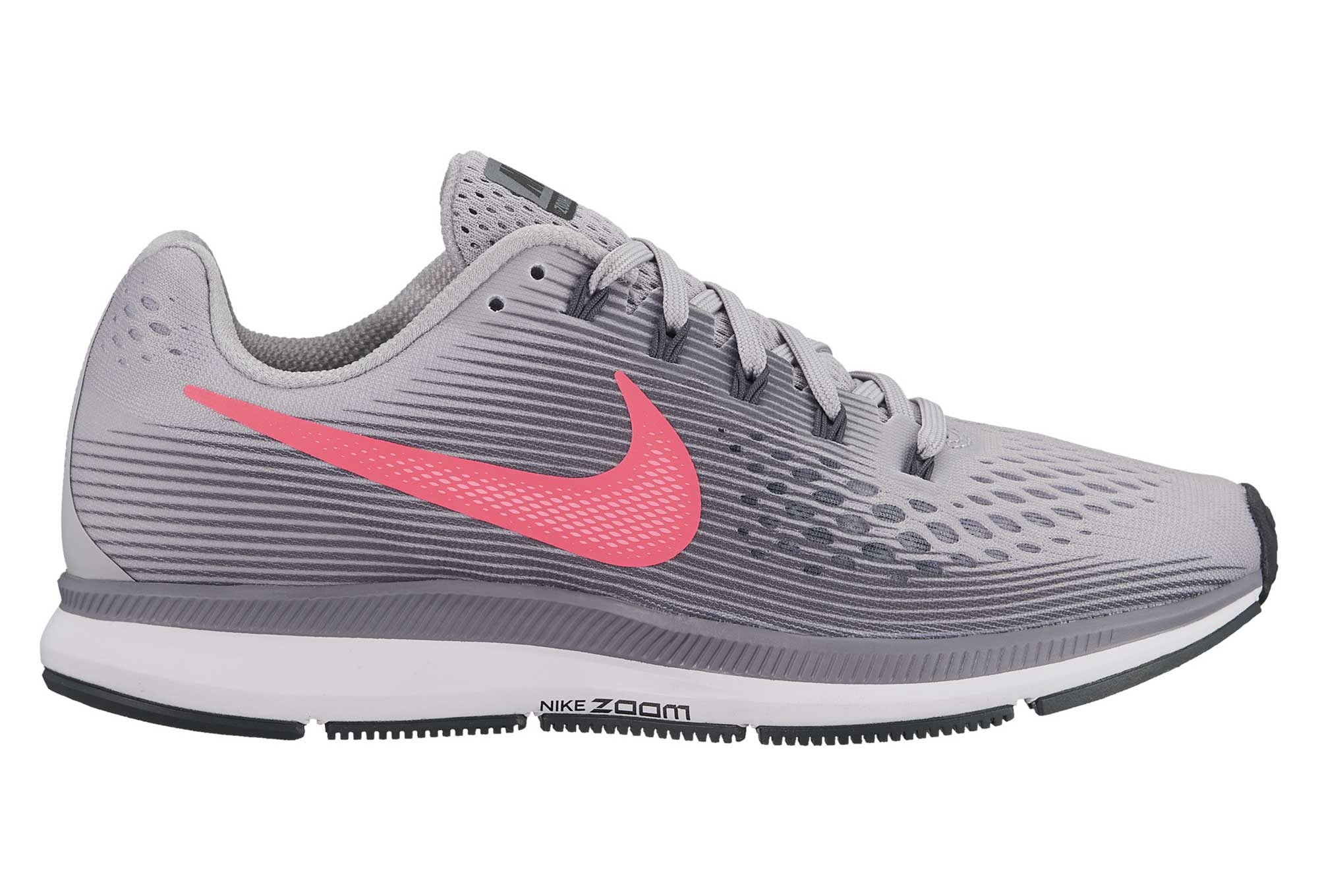 buy popular 1567e 33daa Chaussures de Running Femme Nike Air Zoom Pegasus 34 Gris  Rose