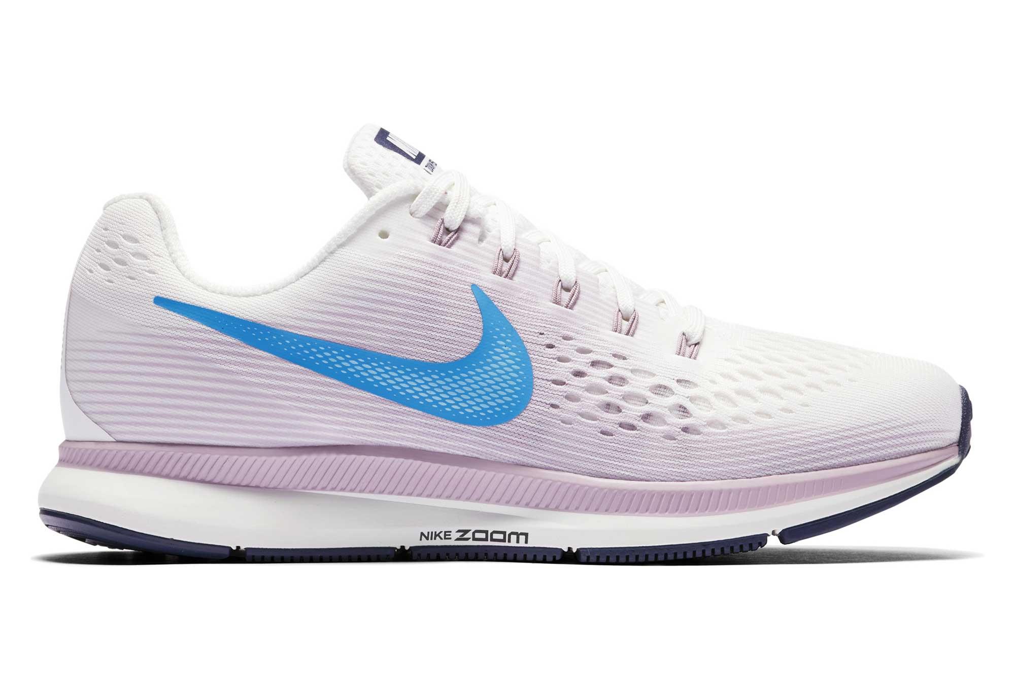 info for dcbaf 881b1 Nike Air Zoom Pegasus 34 White Blue Pink Women   Alltricks.com