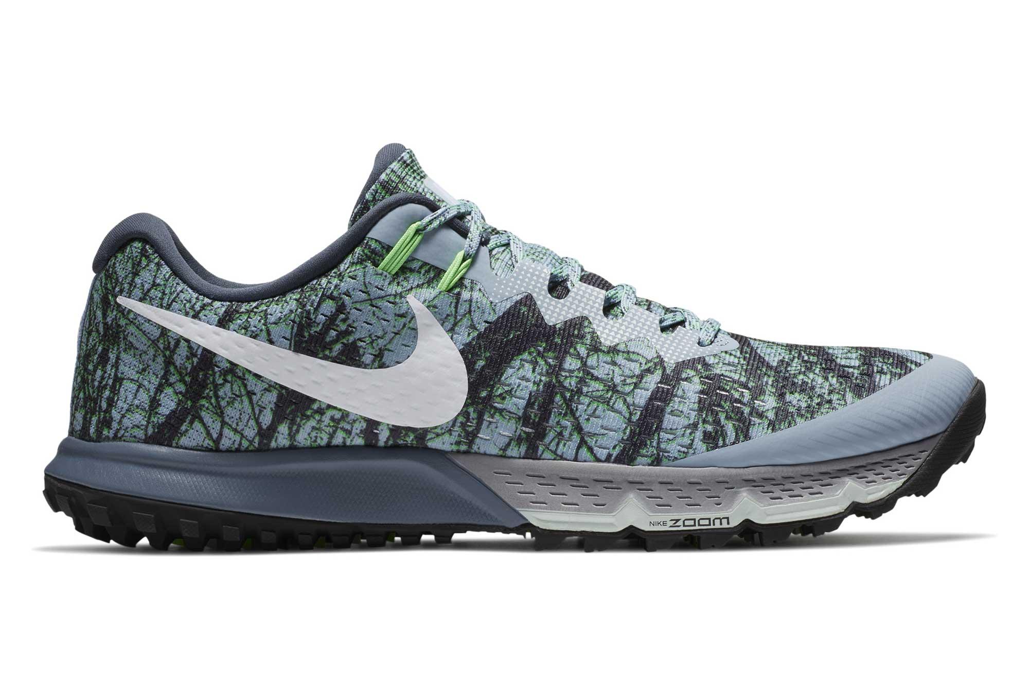ddd76cc331163 Zapatillas Nike Air Zoom Terra Kiger 4 para Hombre Gris