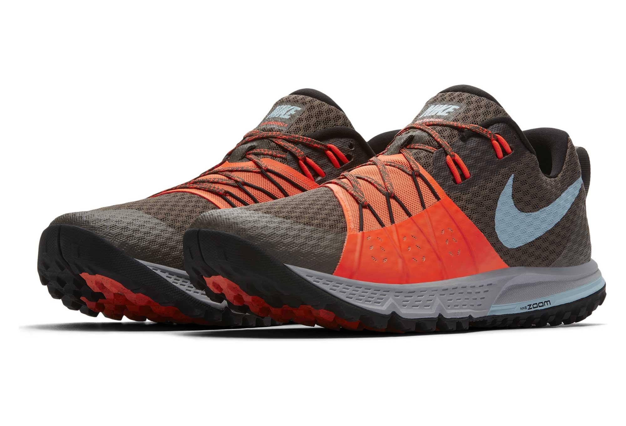 4 Homme Nike De Orange Zoom Trail Chaussures Marron Air Wildhorse K1F3TlJc