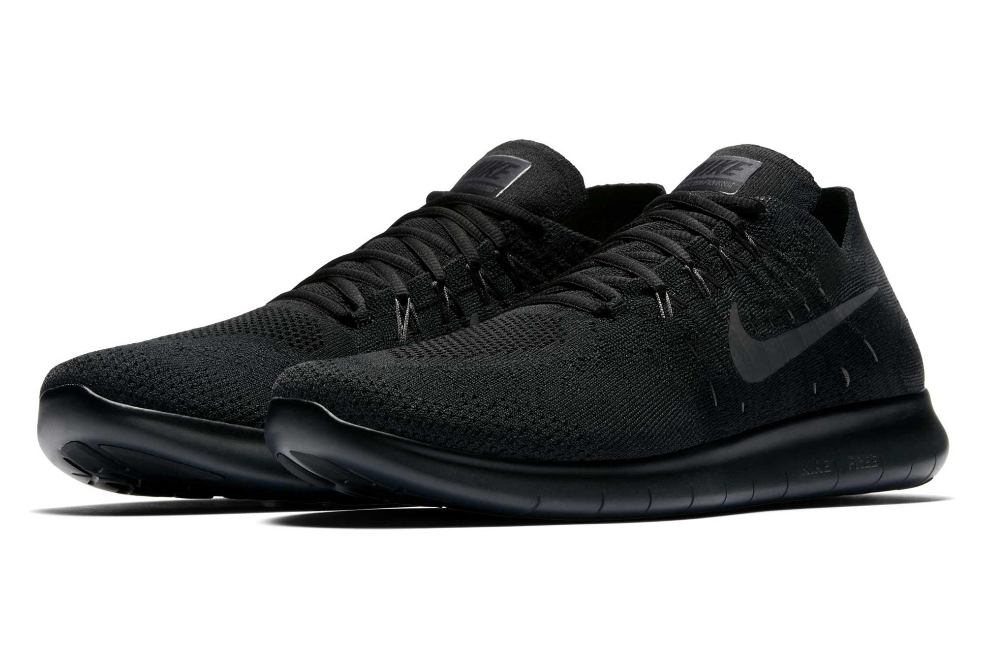 Running Noir Rn Flyknit Nike 2017 Free De Chaussures eoBCdxr