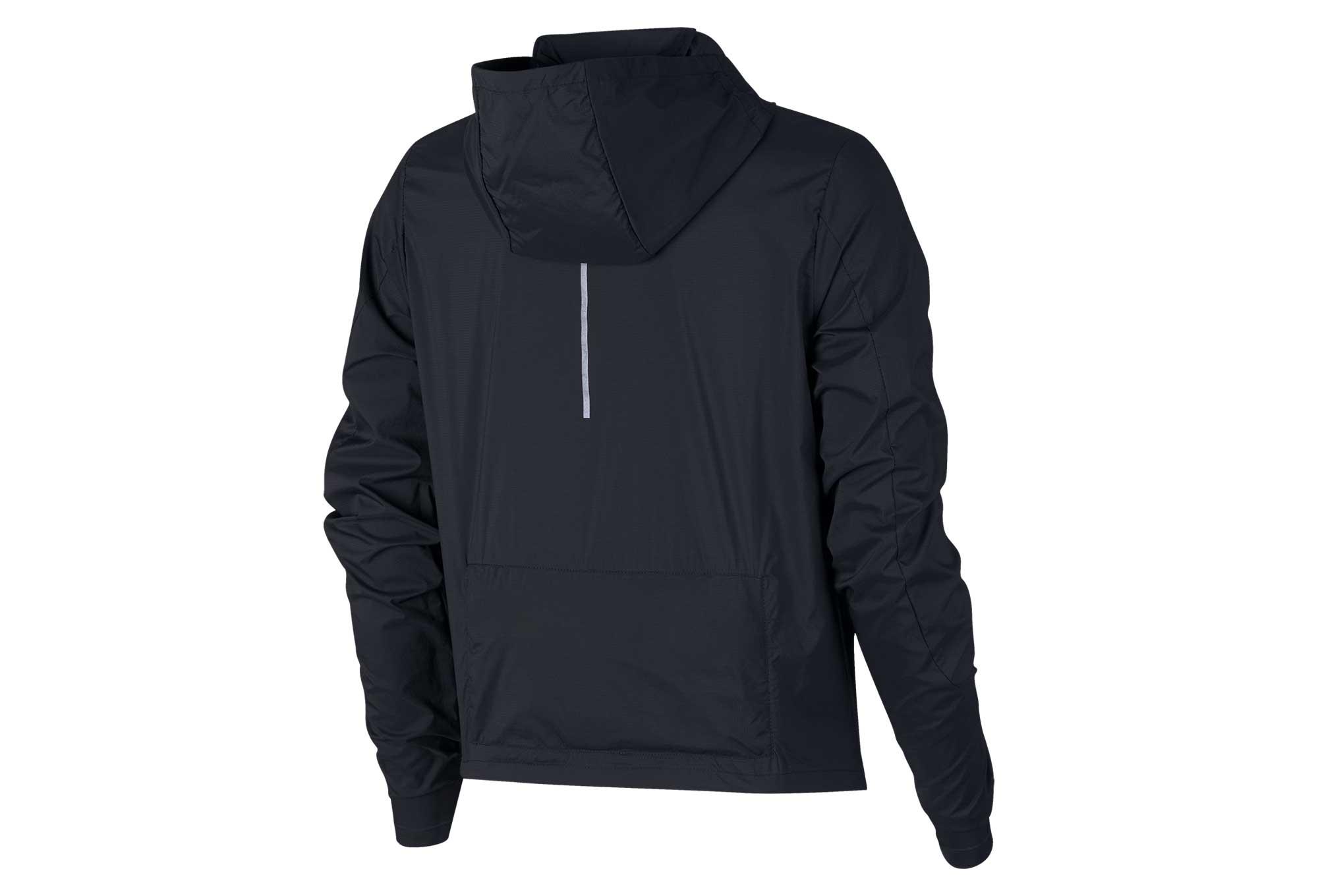 Nike Shield Women Windbreaker Jacket Black