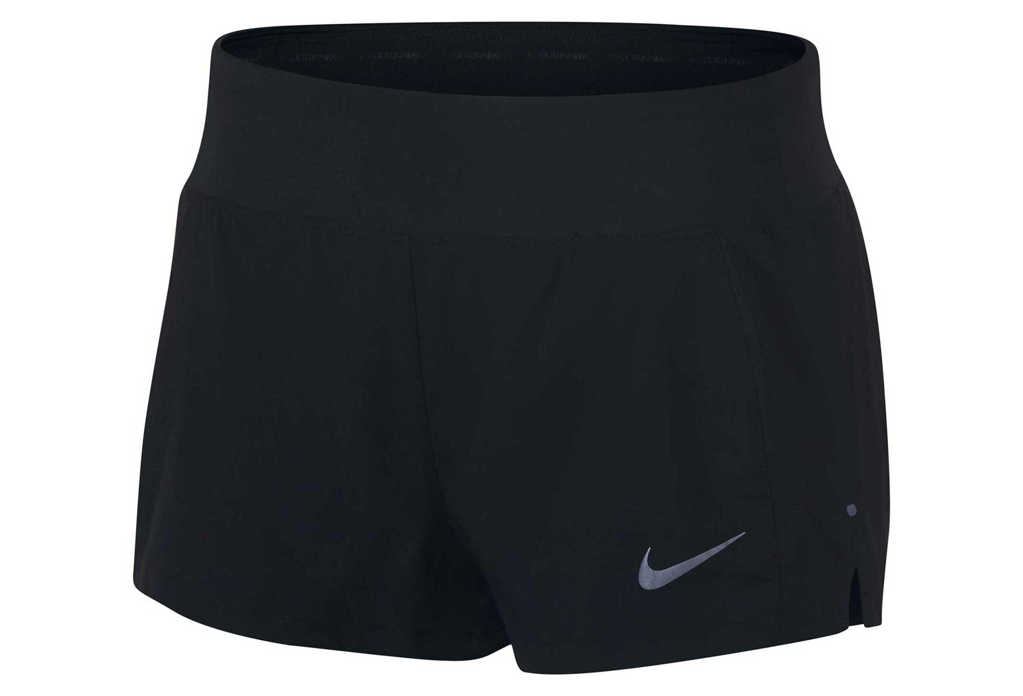 super populaire 10c53 dfe04 Short Femme Nike Eclipse 3'' Noir