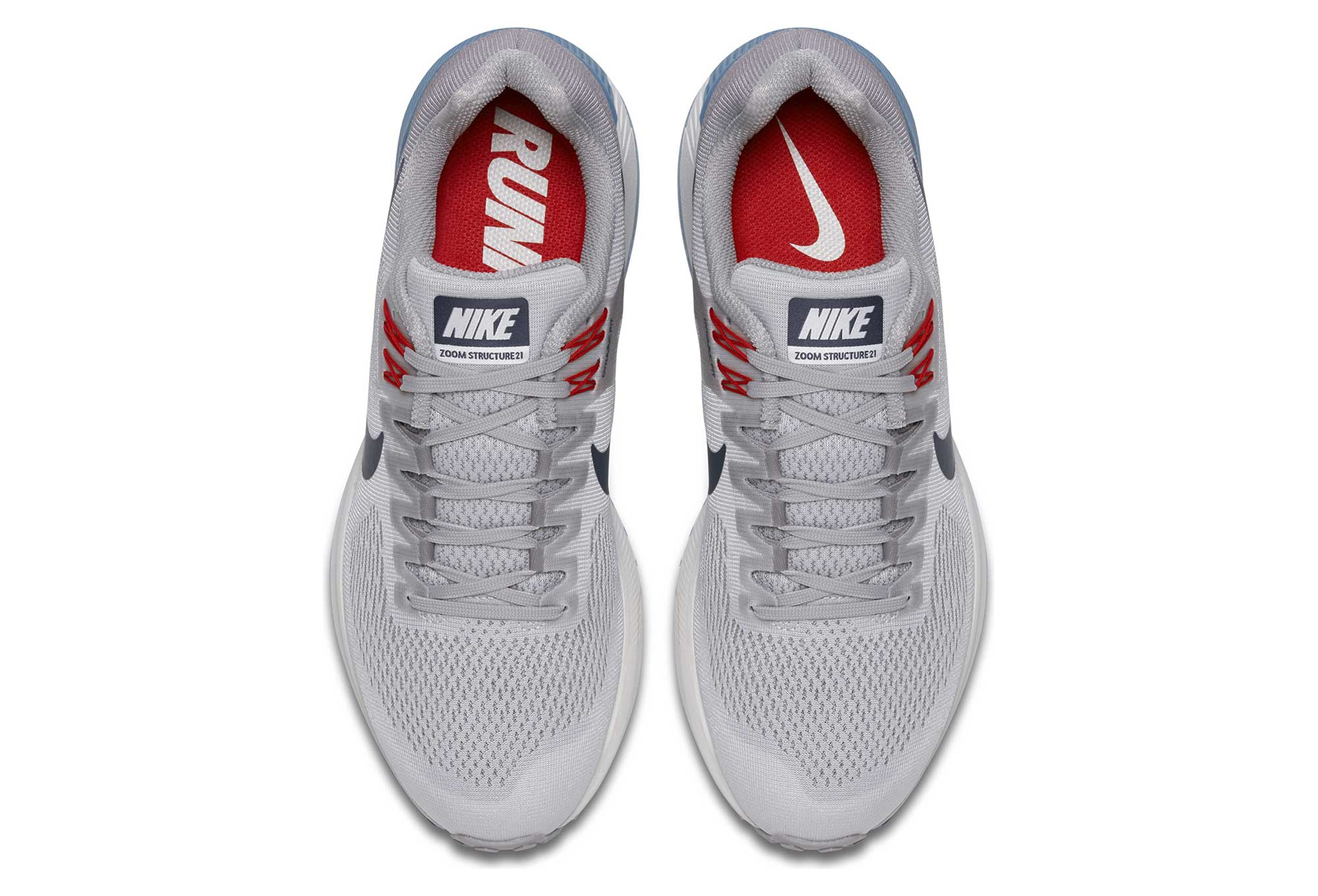 04749db6a63d Nike Air Zoom Structure 21 Grey Blue Men
