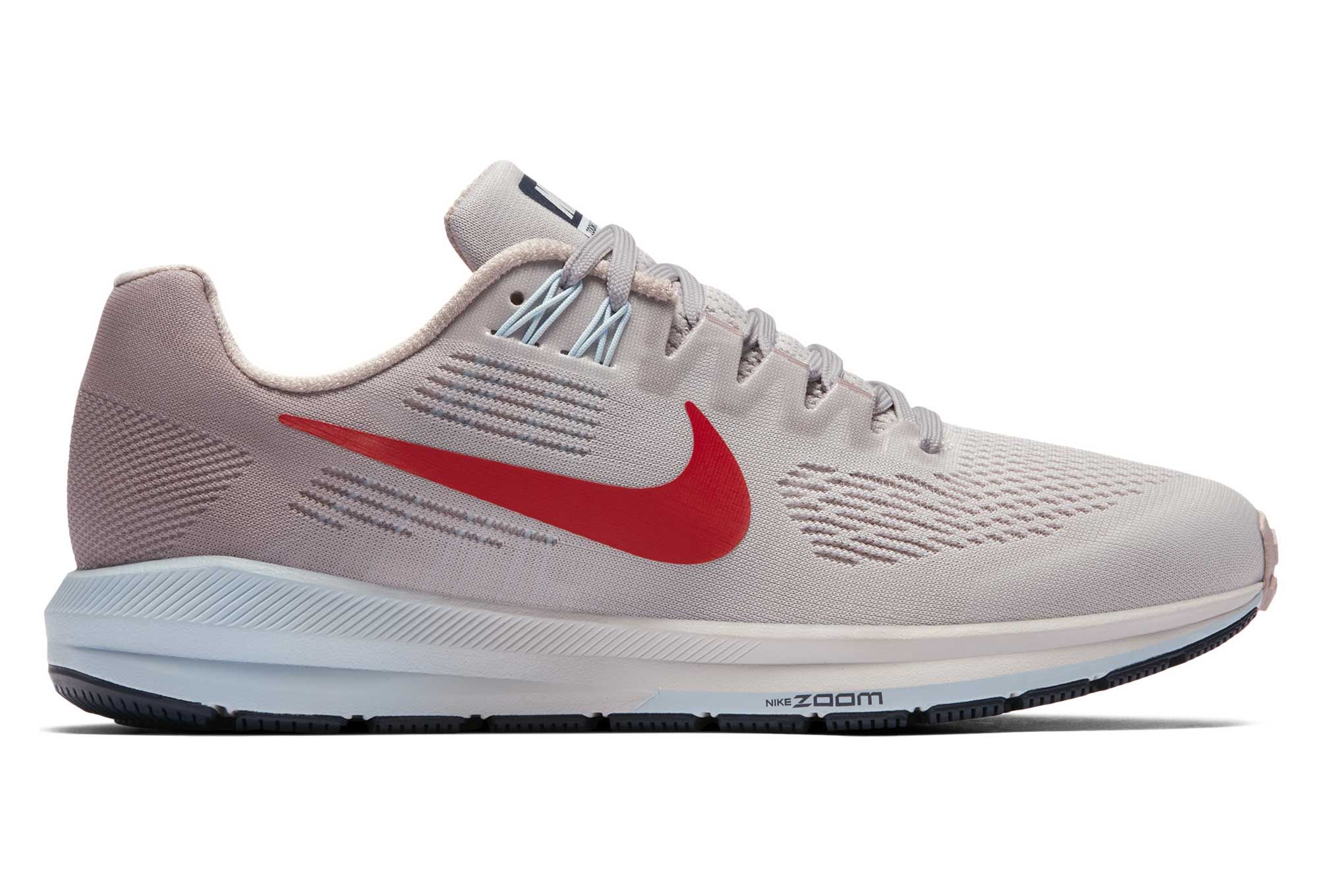 brand new 322b3 447ca Chaussures de Running Femme Nike Air Zoom Structure 21 Gris   Rouge
