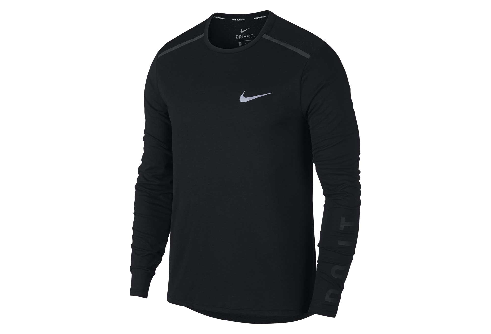 Nike es De Camiseta Tailwind Larga Negra Manga Alltricks qw8wPtfn