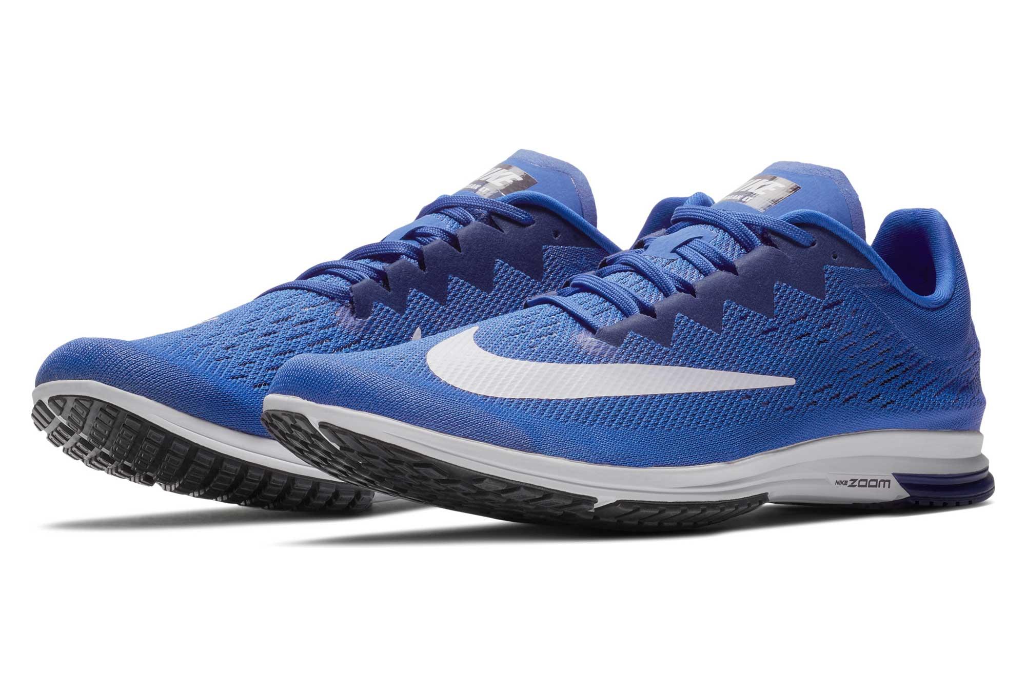 Chaussures de Running Nike Air Zoom Streak LT 4 Bleu Foncé