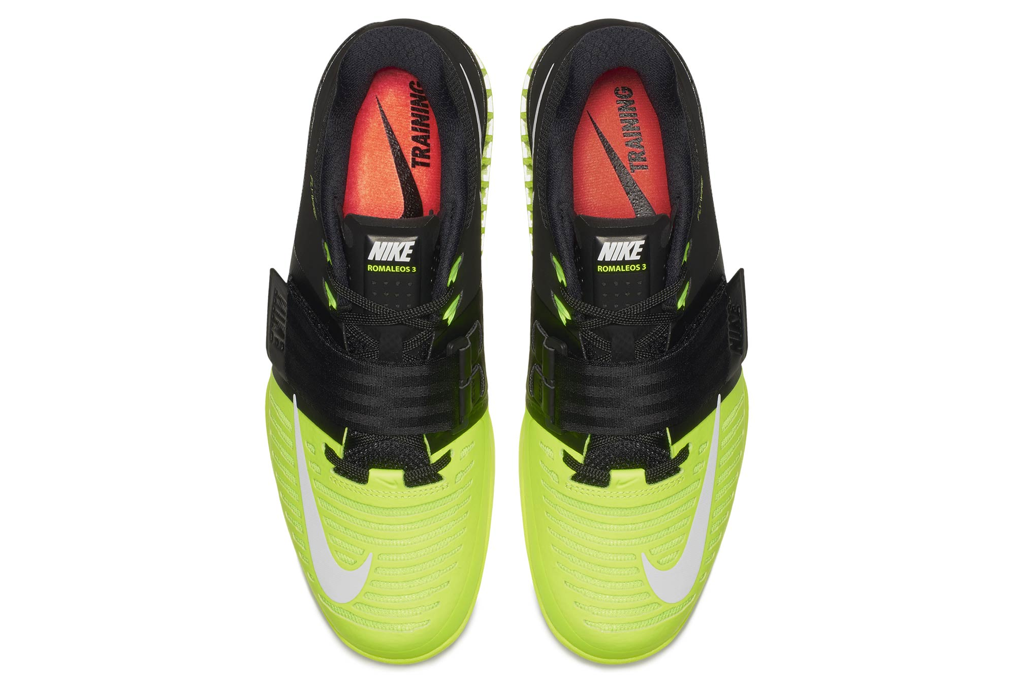 Chaussures 3 Jaune Romaleos De Nike Cross Noir Training Fluo BAT1qrBp