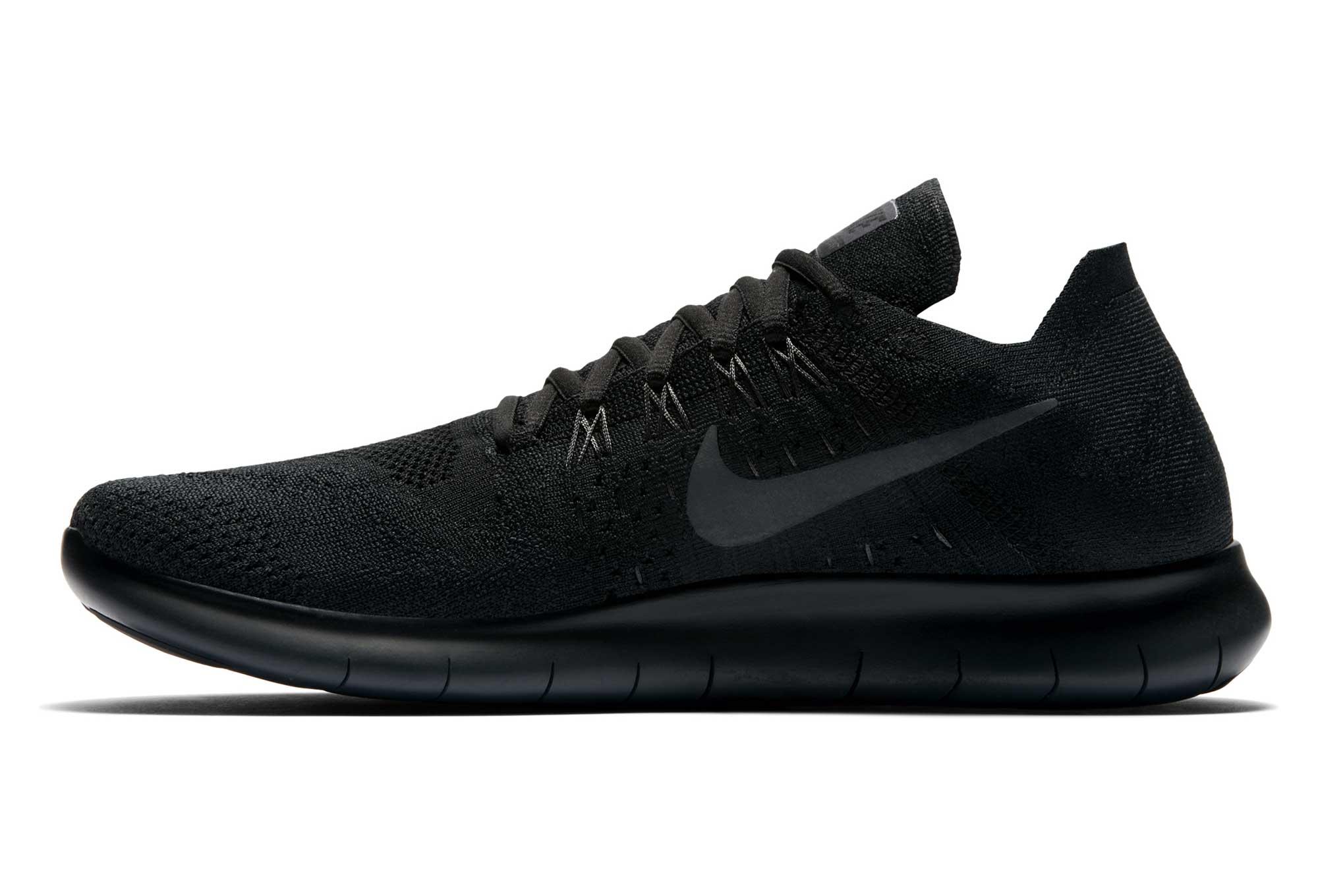 pretty nice 1c091 806c6 Zapatillas de running para mujer Nike Free RN Flyknit 2017 Negro Gris  antracita