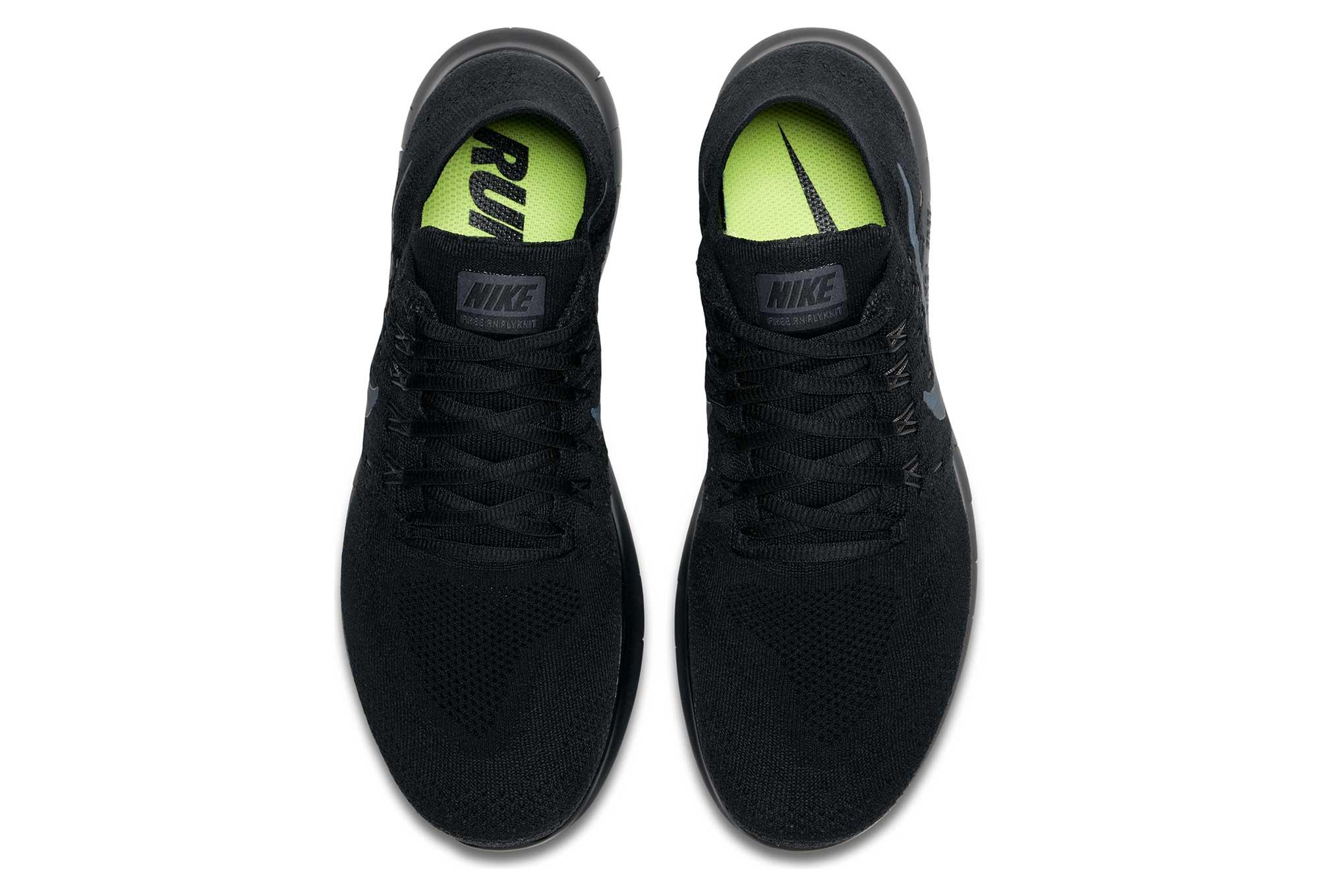 size 40 1d6f8 2b6e5 Chaussures de Running Femme Nike Free RN Flyknit 2017 Noir