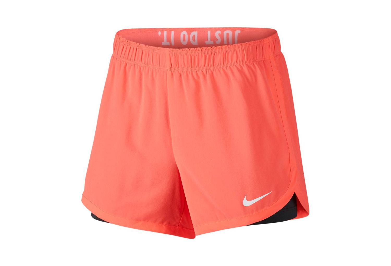Short 2-en-1 Femme Nike Flex Rose  0e684079ed1