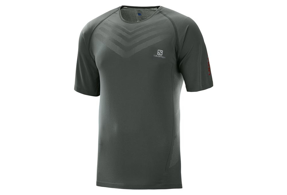 Sense Sleeves Grey Jersey Salomon Short Pro oQrCWBxed