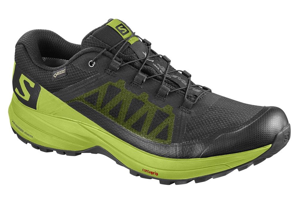 Zapatillas de trail Salomon XA Elevate GTX Negro Verde