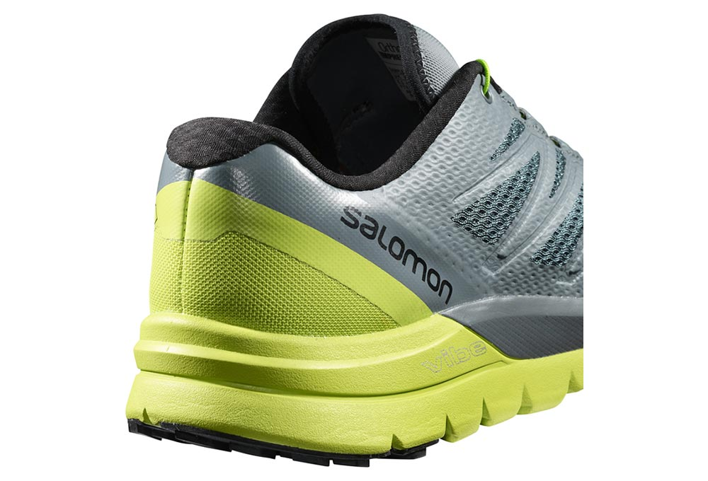 Günstig Salomon Sense Pro Trail Damen Laufschuhe Grün Sale