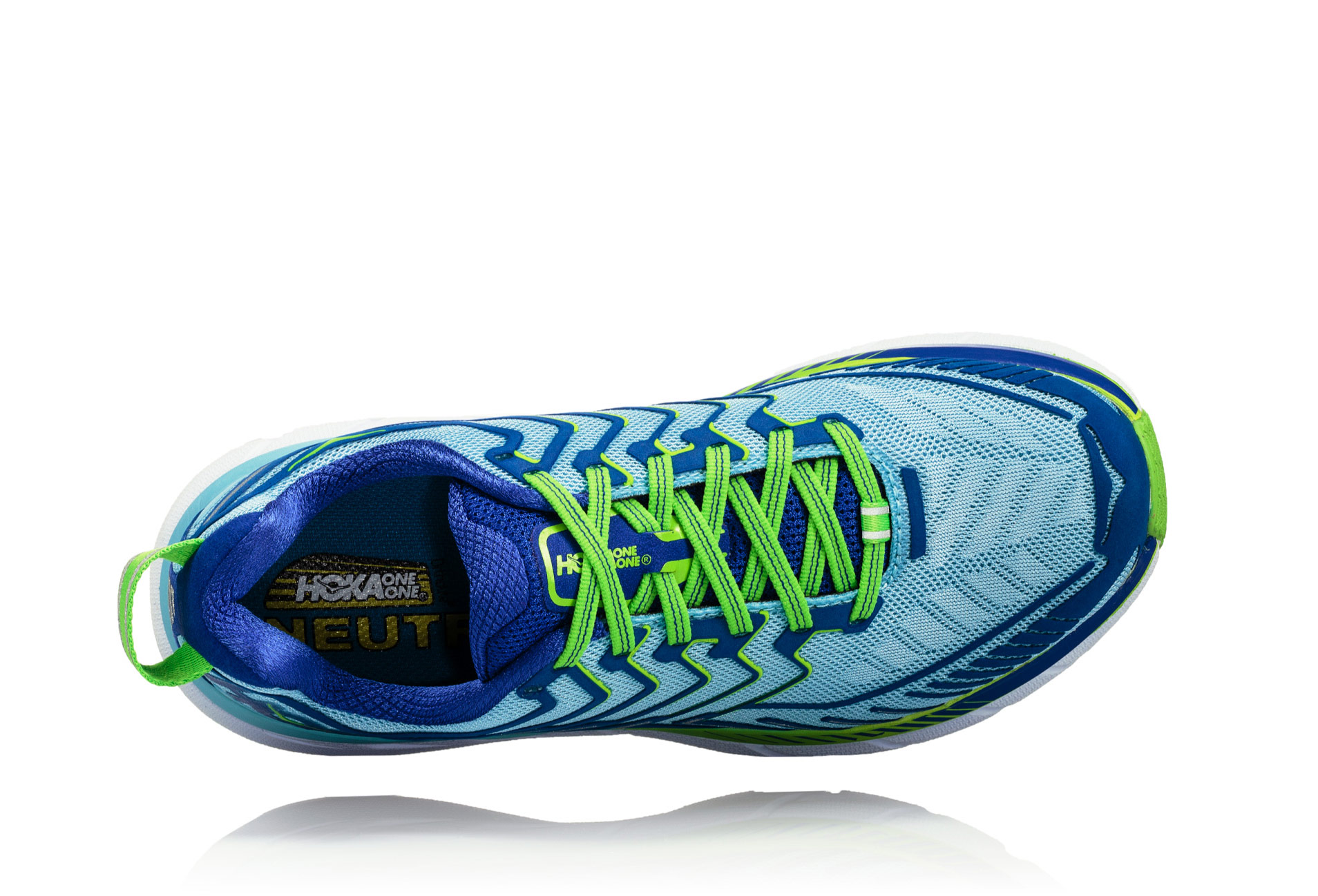 huge discount bbde9 0ed77 Hoka Clifton 4 Women Blue Green