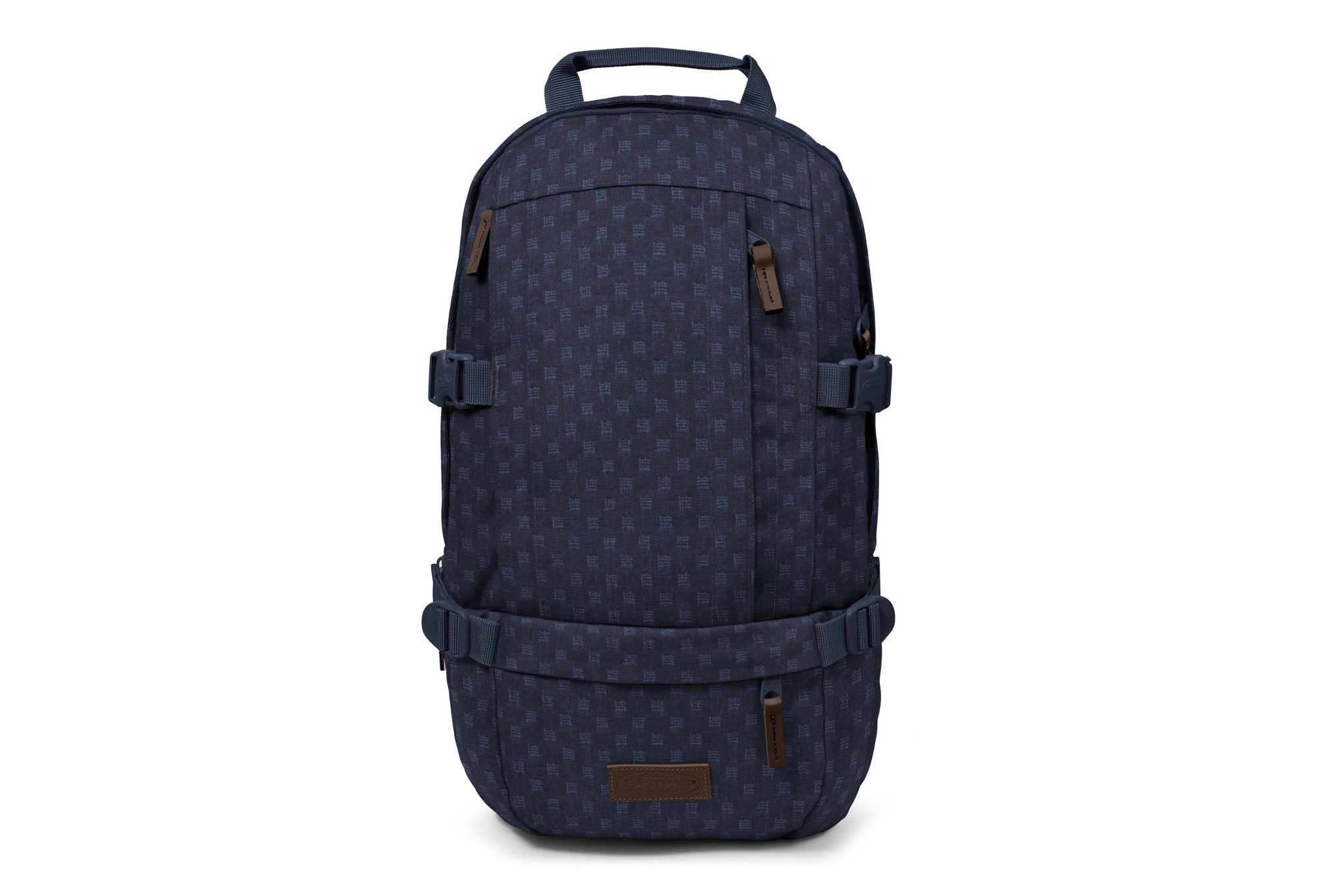 Denim Checks À Sac Floid Eastpak Dos Bleu X6I64qOx