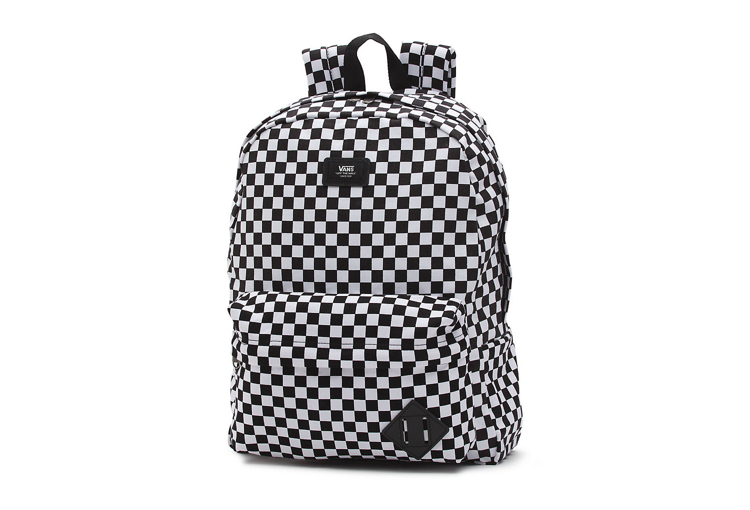 vans old skool backpack schwarz wei check. Black Bedroom Furniture Sets. Home Design Ideas