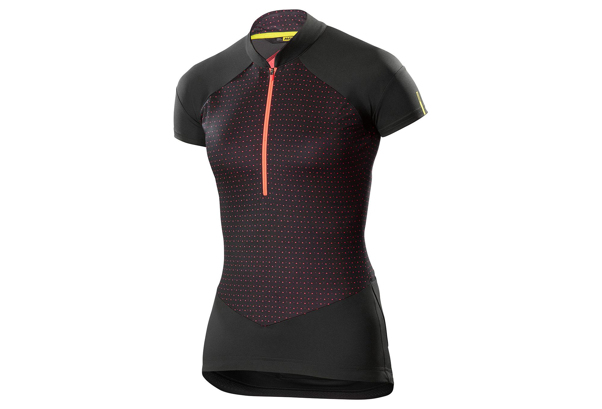 Mavic 2018 Graphic Sequence Women Short Sleeves Jersey Black Pink ... fda7bd98f