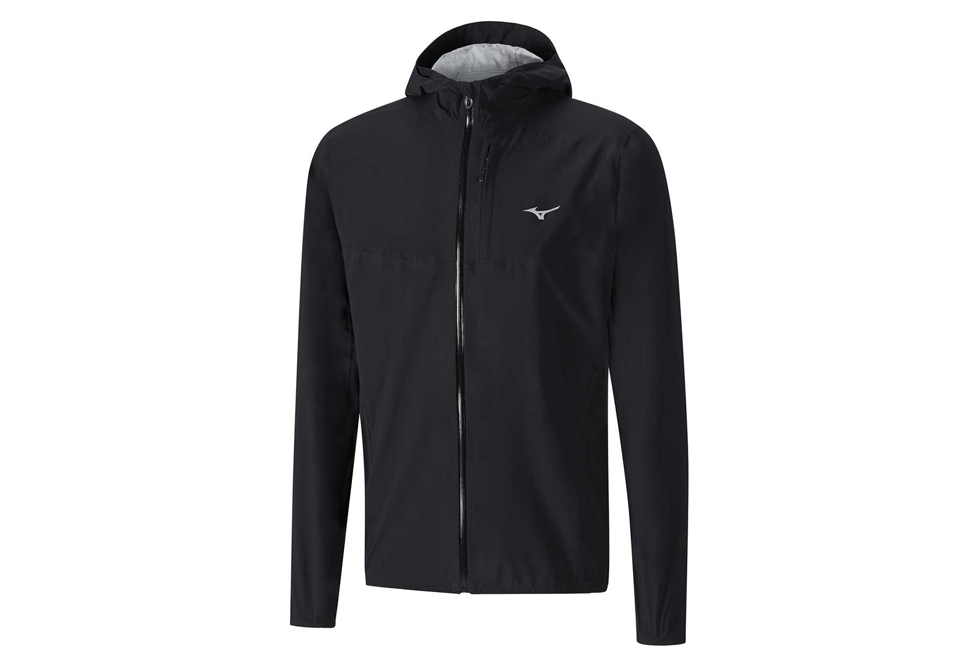 Mizuno Endura 20k Waterproof Jacket Black
