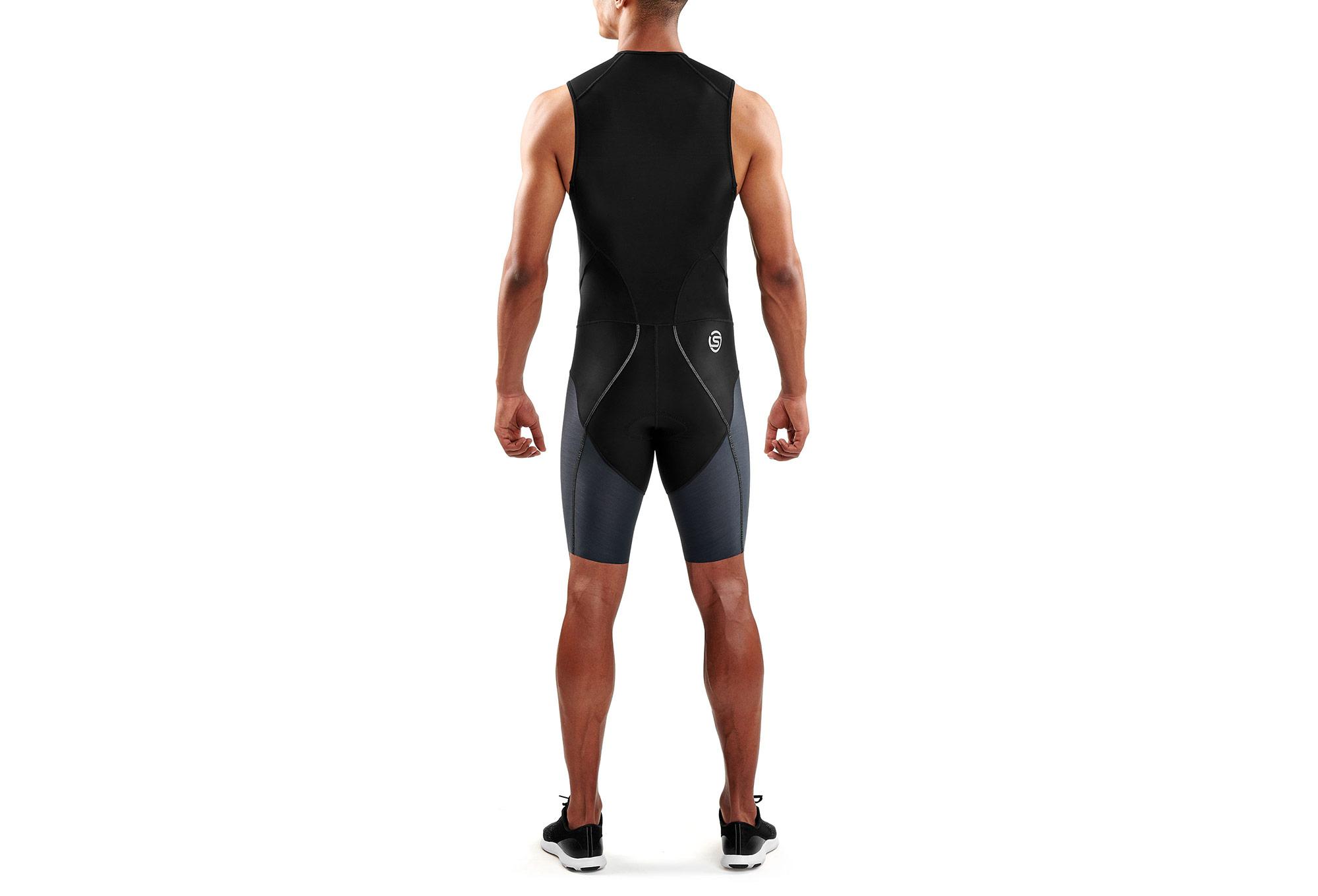 meilleur site web 0a966 59ffd Combinaison Trifonction Skins DNAmic Triathlon Noir Gris