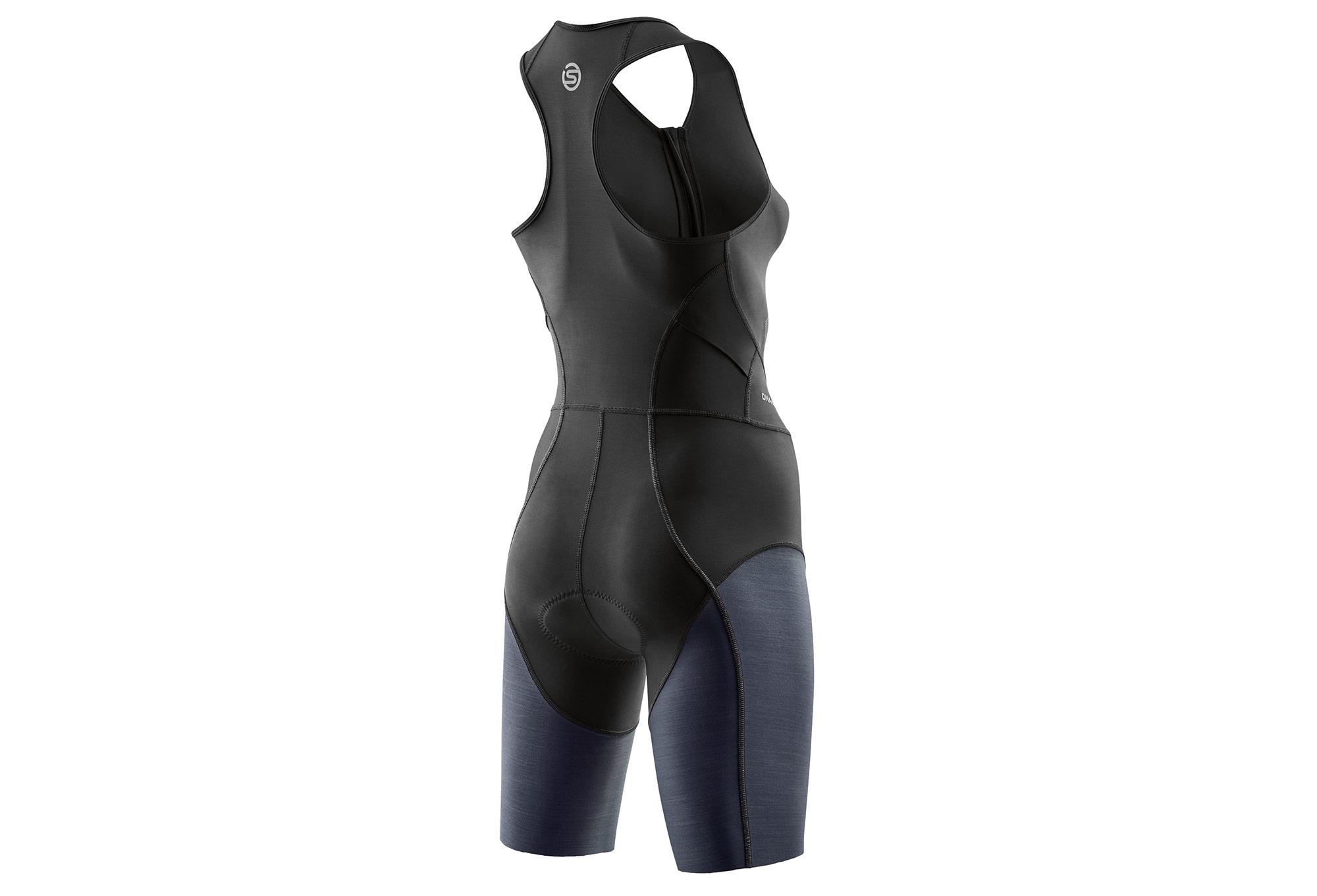 f080335853f Skins DNAmic Triathlon Skinsuit Zip Avant Black Women