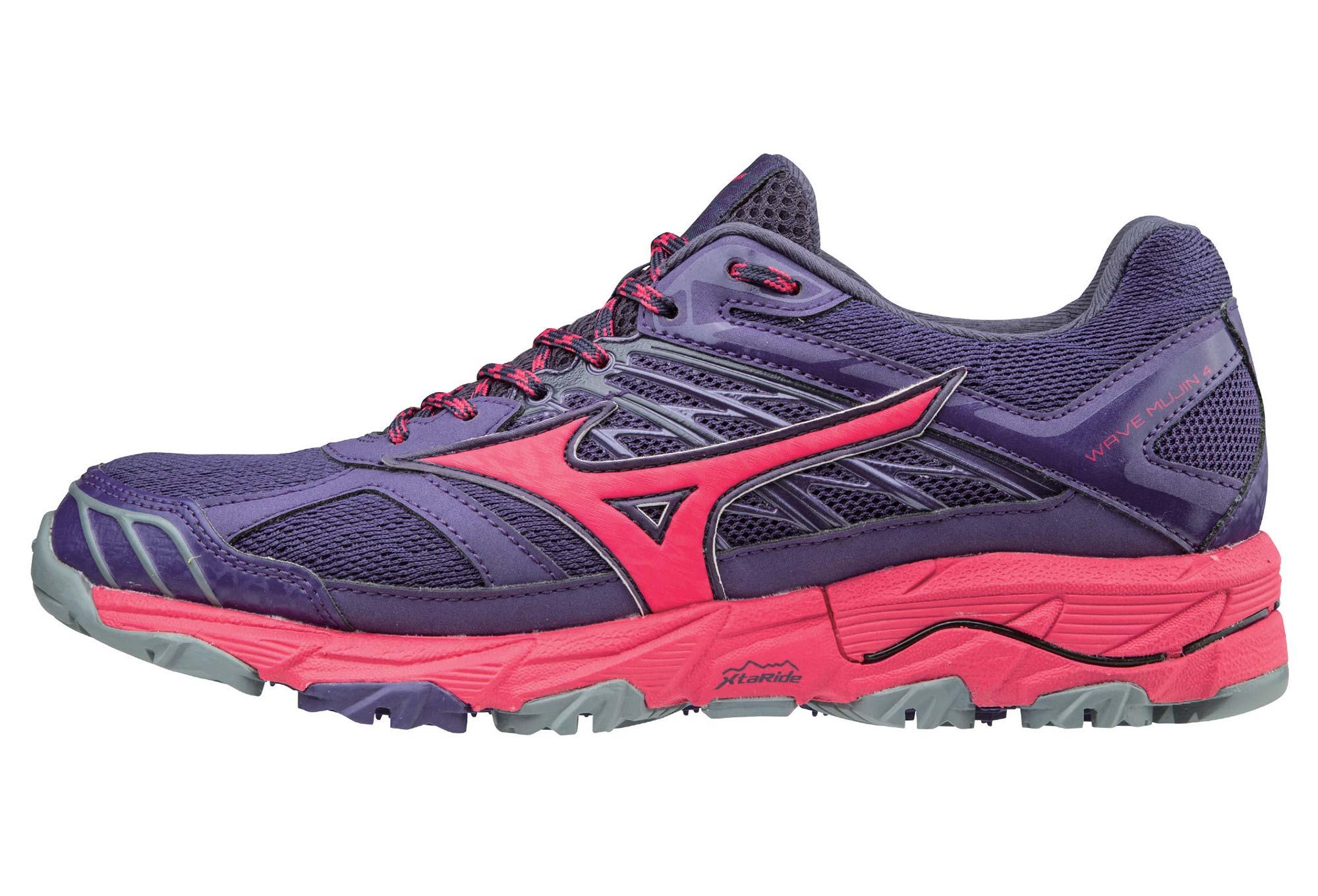 Zapatillas de trail para mujer Mizuno Wave Mujin 4 Violeta Rosa