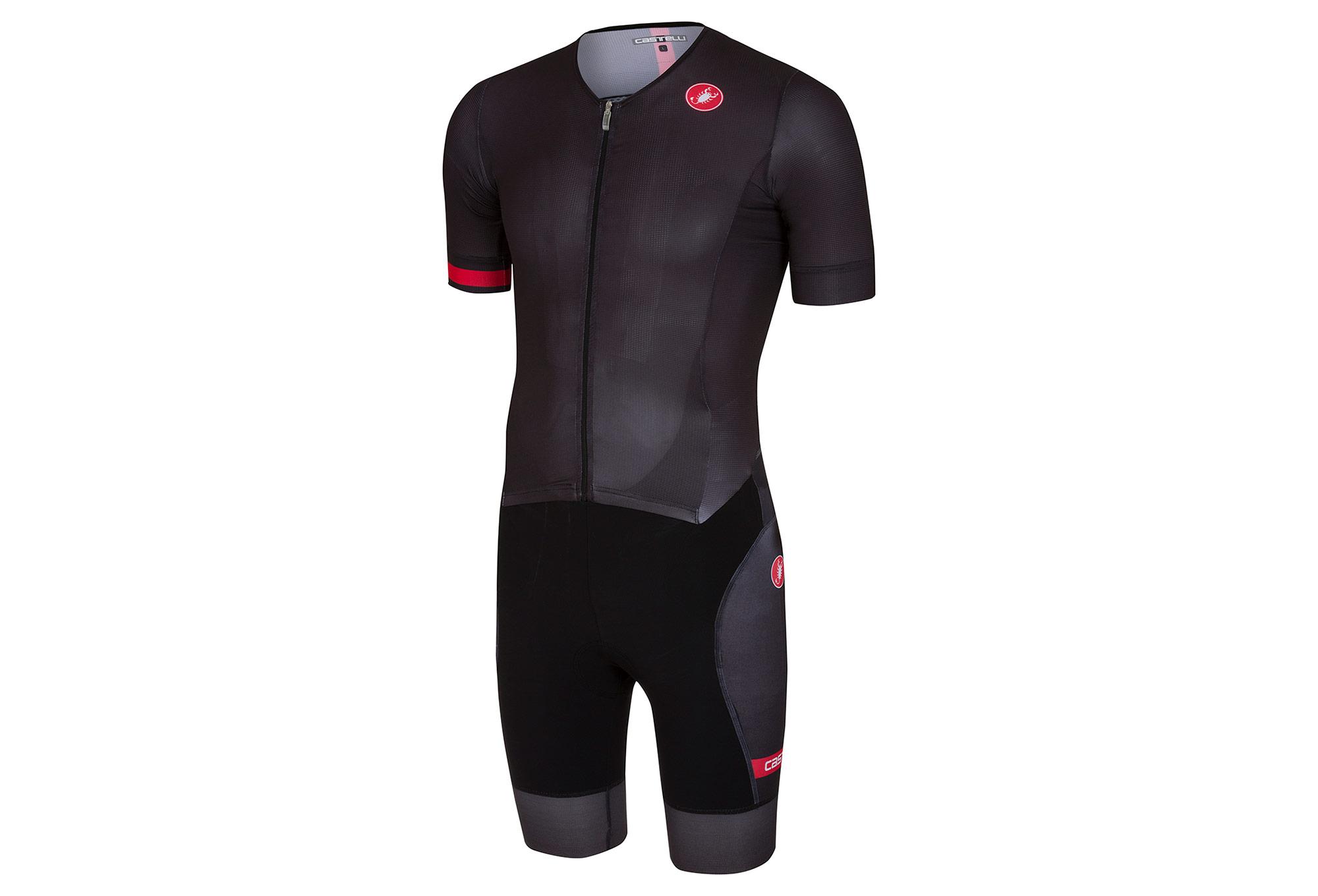 Castelli 2018 Free Sanremo Triathlon Suit Black