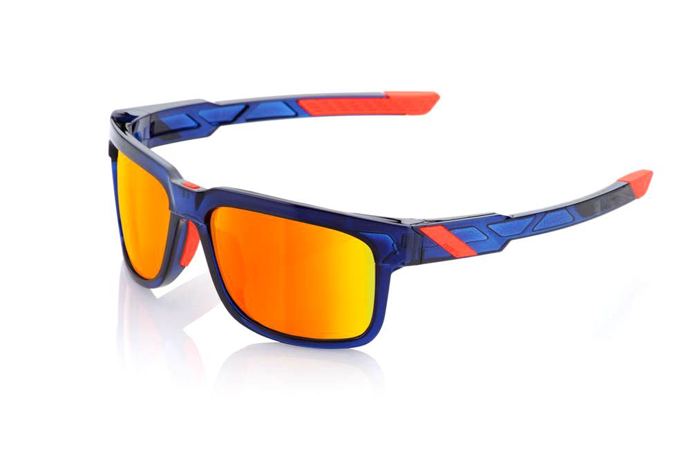 bbe639a9f62ea2 Paire de Lunettes 100% Type S - Anthem - Ecran HiPER Miroir Rouge Bleu