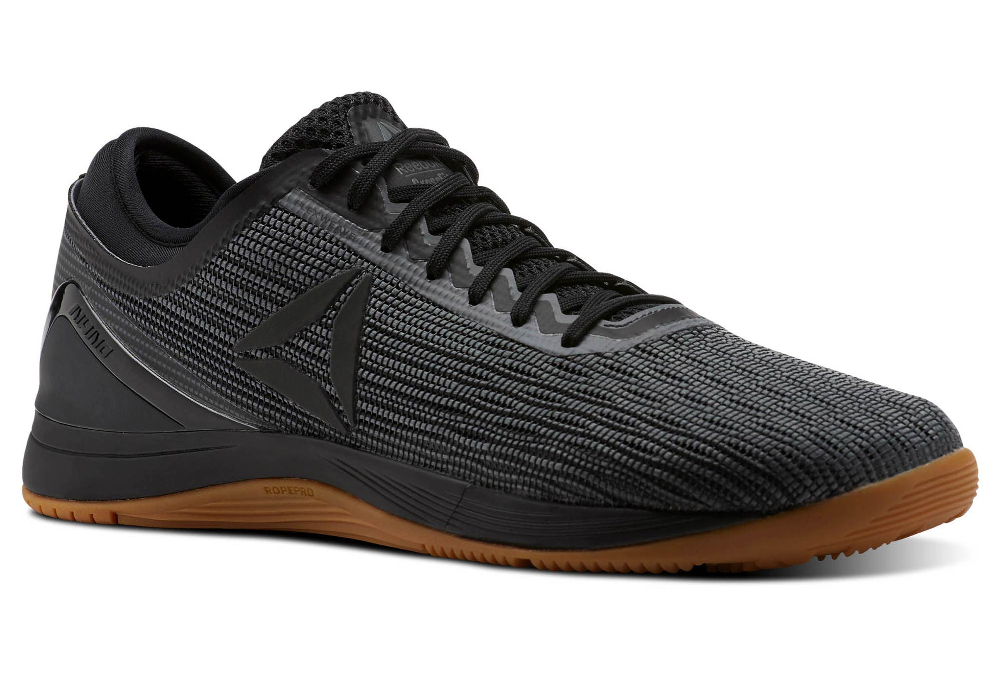Zapatos 2018 nueva calzado Zapatillas de Cross Training Reebok Nano 8 Flexweave Negro Beige
