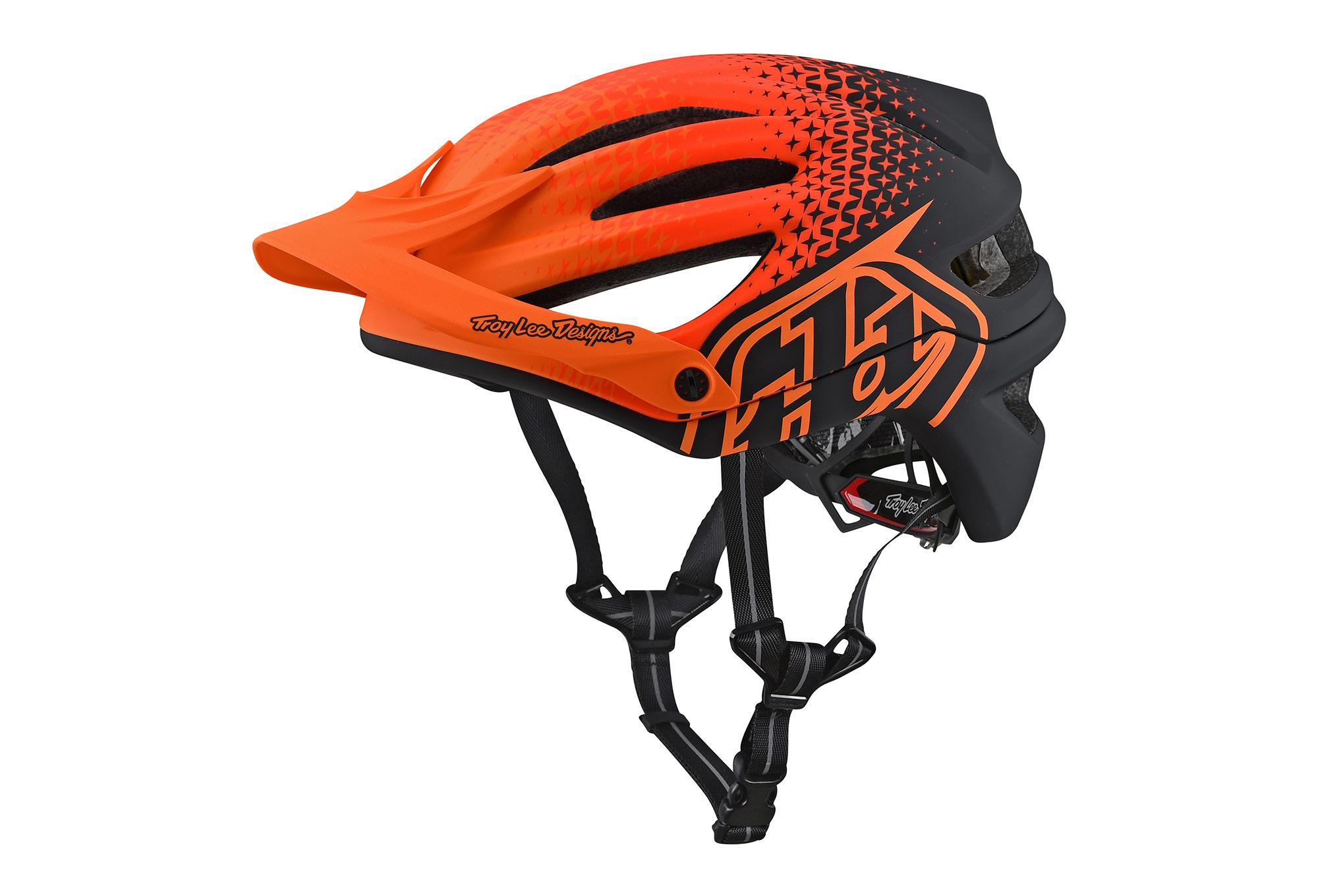 troy lee designs a2 starburst mips helmet orange. Black Bedroom Furniture Sets. Home Design Ideas