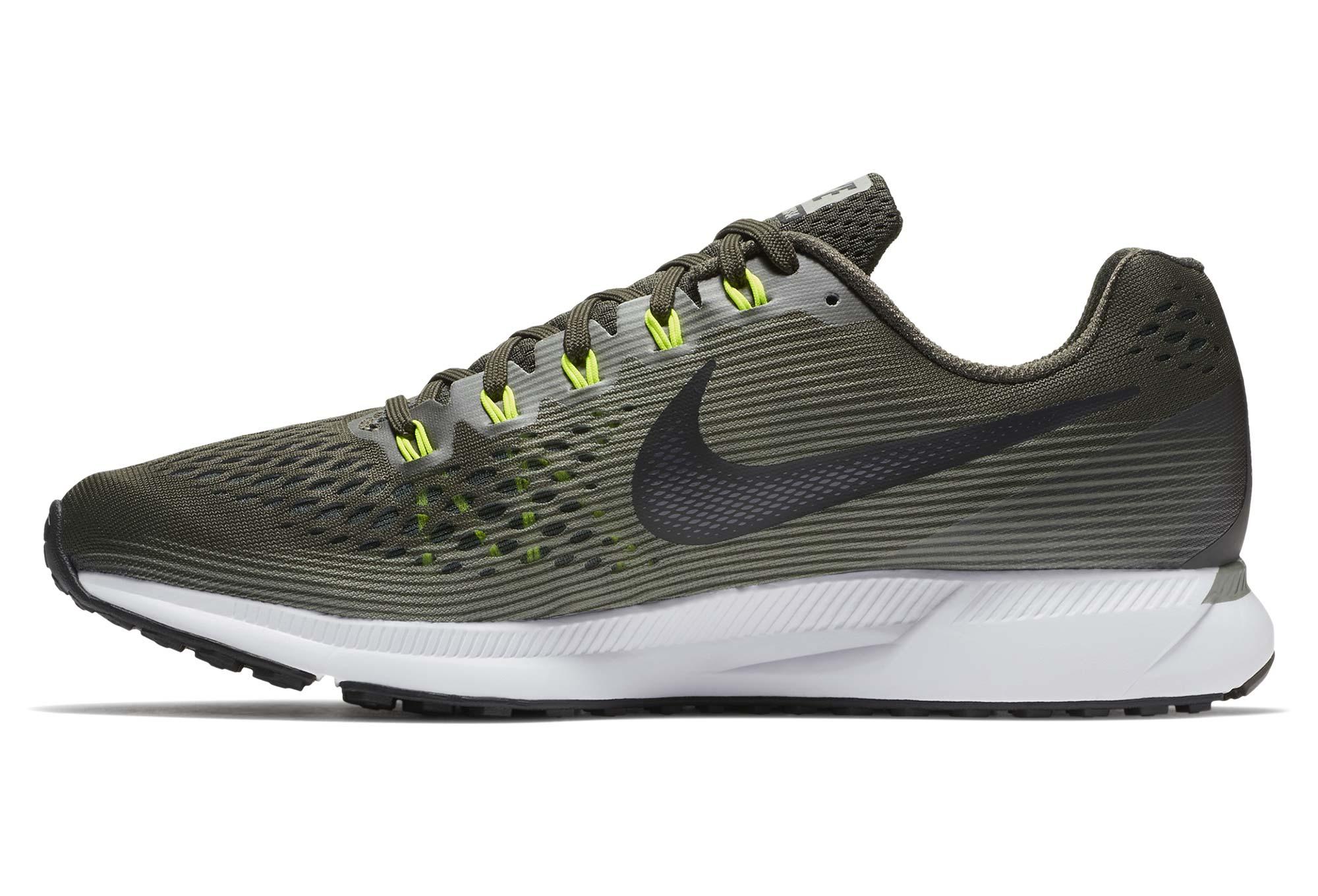 Nike Air Zoom Pegasus 34 Khaki Vert