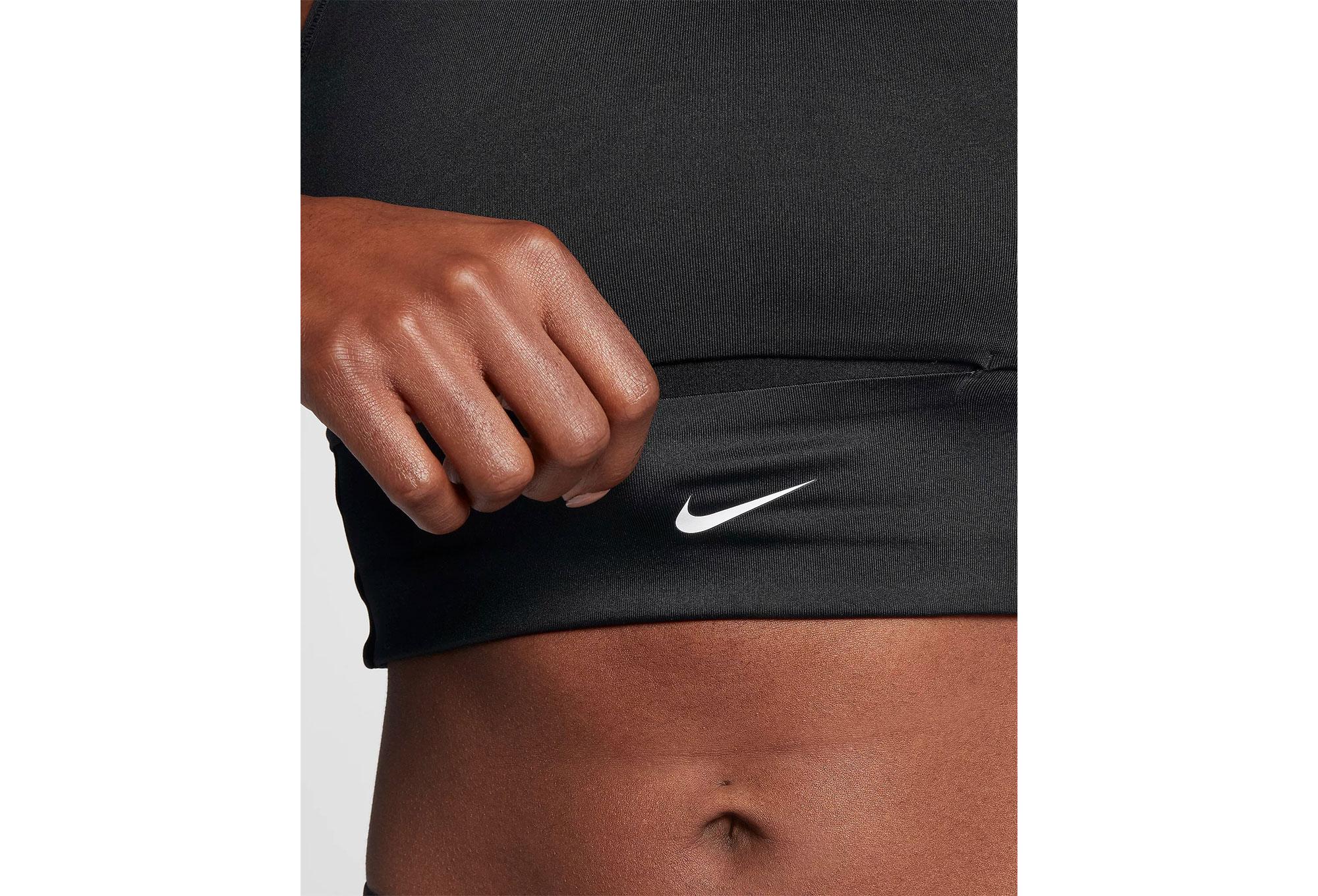 2d671cf592aa2 Nike Swoosh Pocket Sports Bra Black