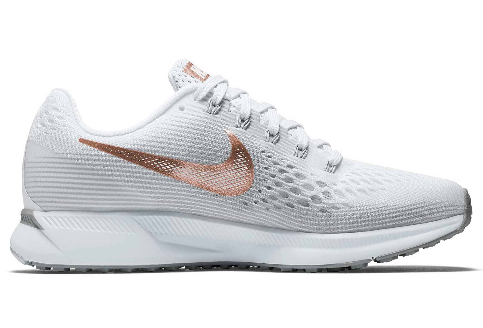 uk availability 4c20e 3407b Chaussures de Running Femme Nike Air Zoom Pegasus 34 Medal Pack Blanc