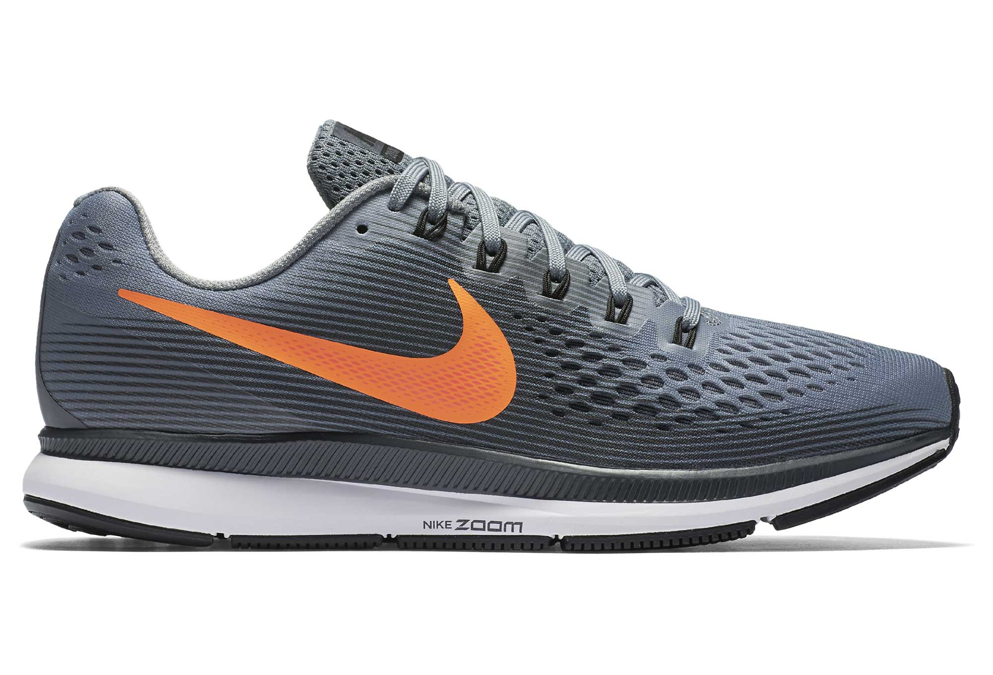 edf9758be7f2 NIKE AIR ZOOM PEGASUS 34 Shoes Grey Orange Men