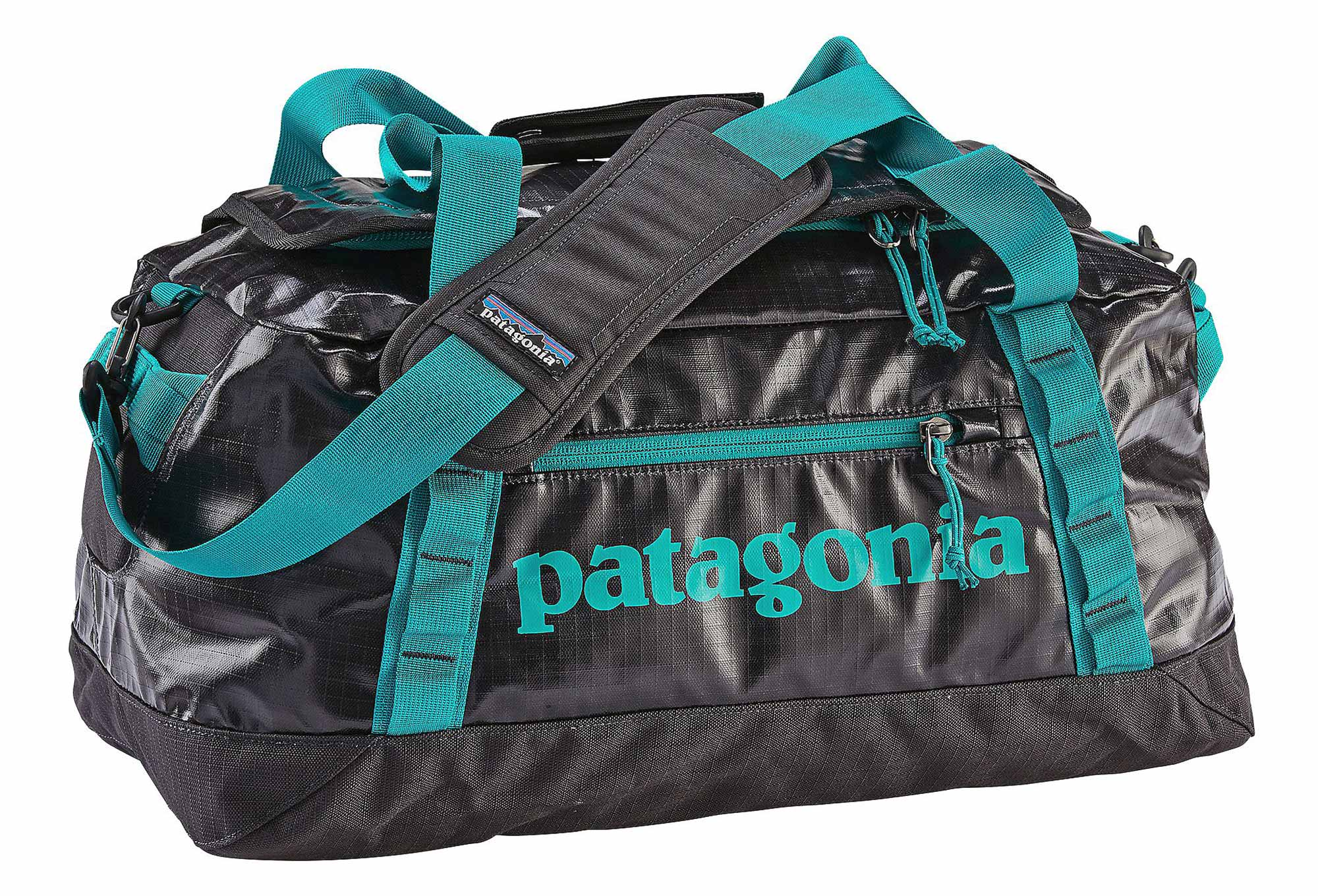 57c3eaa5e9e Sac de Voyage Patagonia Black Hole 45L Noir Bleu Turquoise ...