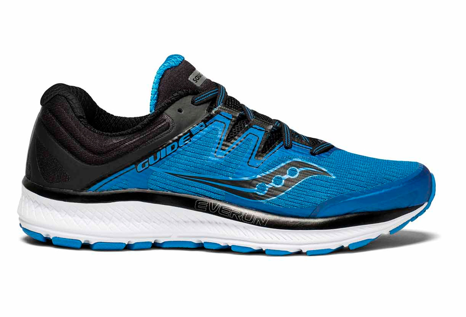 outlet. Saucony Guide Iso Shoes Blu Nero 7ddd10c51b2