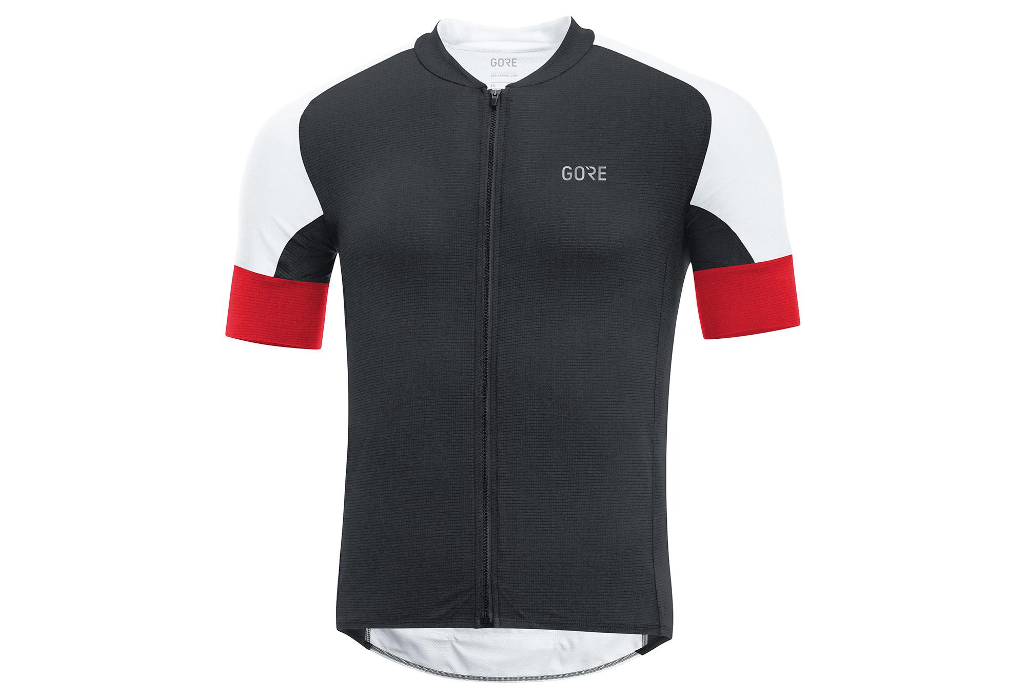 Gore Apparel Cycling C7 CC Jersey negro rojo  da999ada1