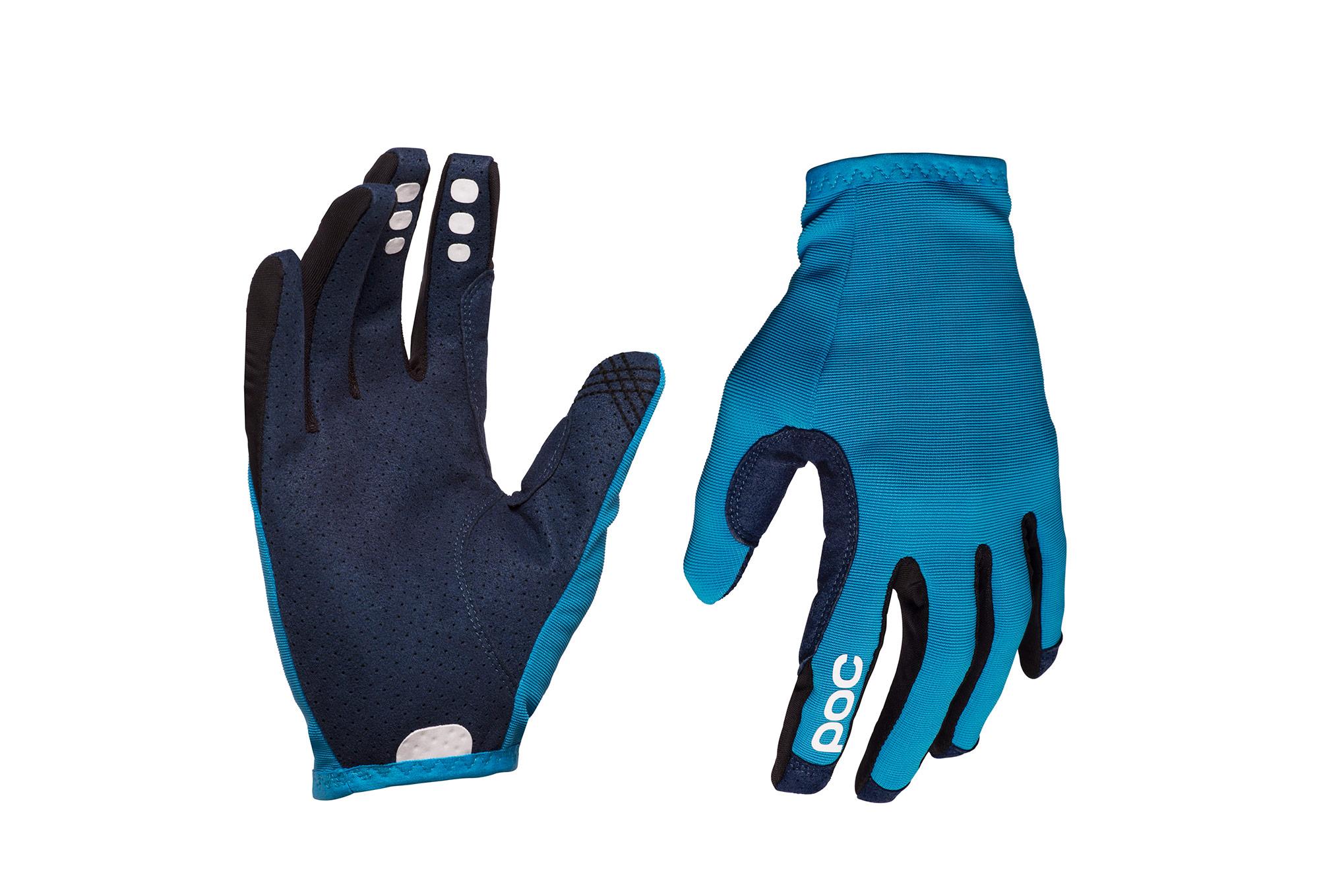 6698b4eed POC Resistance Enduro Glove Furfural Blue