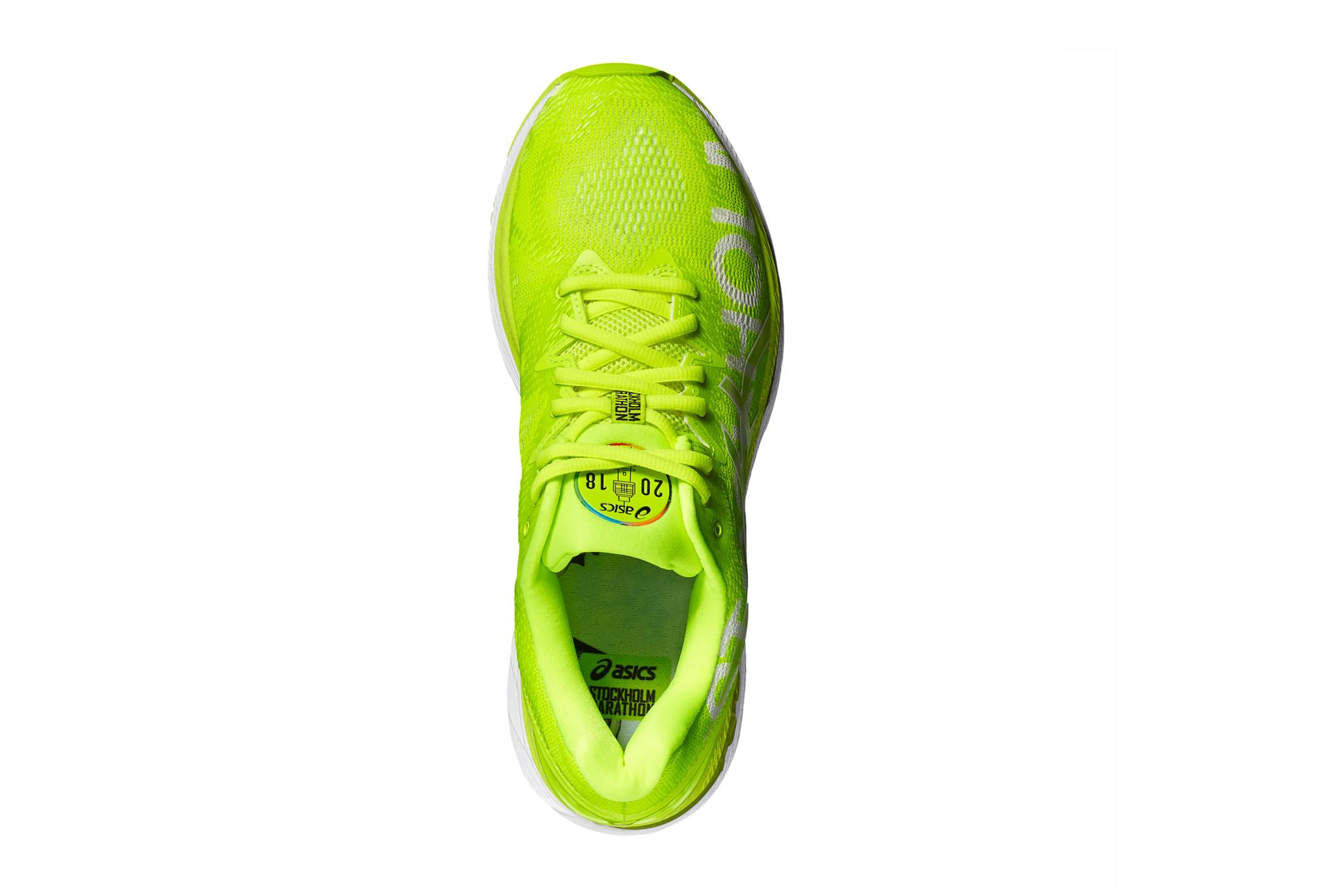 Asics 20 De Marathon Running Nimbus Jaune Chaussures Stockholm Gel OnmN8vw0