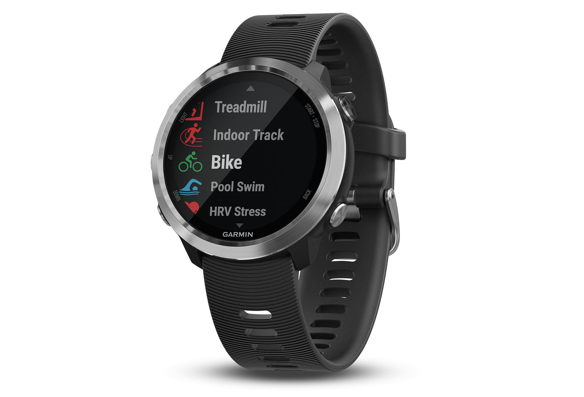 montre gps garmin forerunner 645 noir. Black Bedroom Furniture Sets. Home Design Ideas
