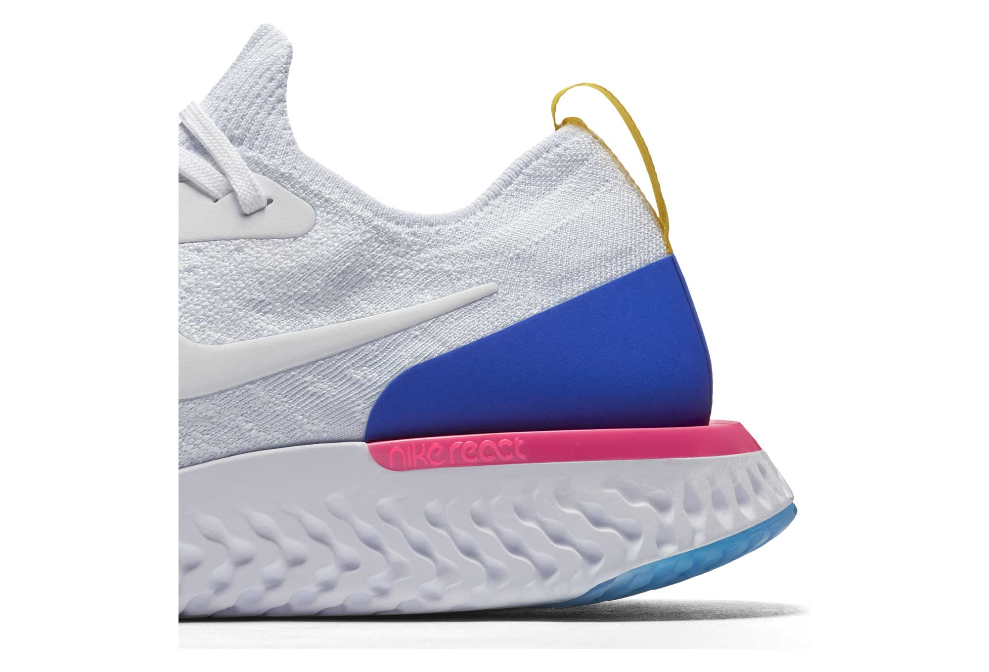 Nike Epic React Flyknit White Men