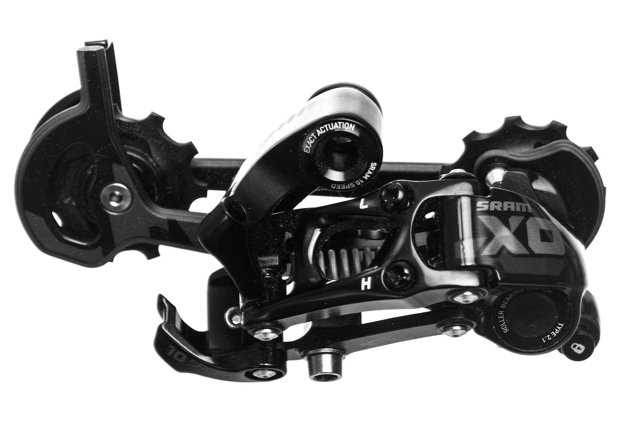 Sram X0 Type 2 10 Speed Rear Derailleur Long Cage Black Alltricks Com