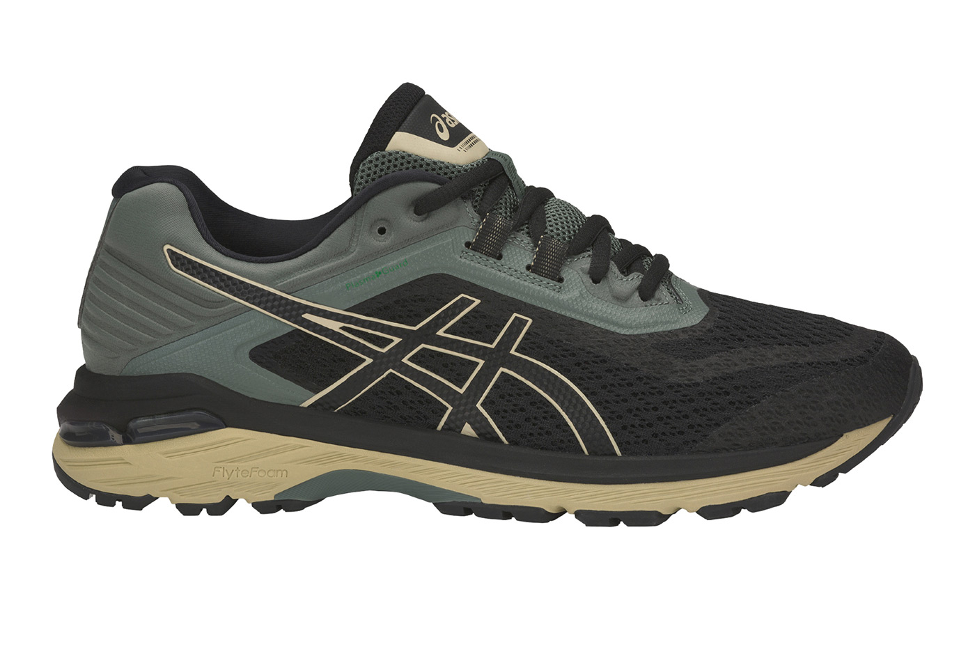 chaussures de trail asics gt 2000 6 trail noir gris. Black Bedroom Furniture Sets. Home Design Ideas